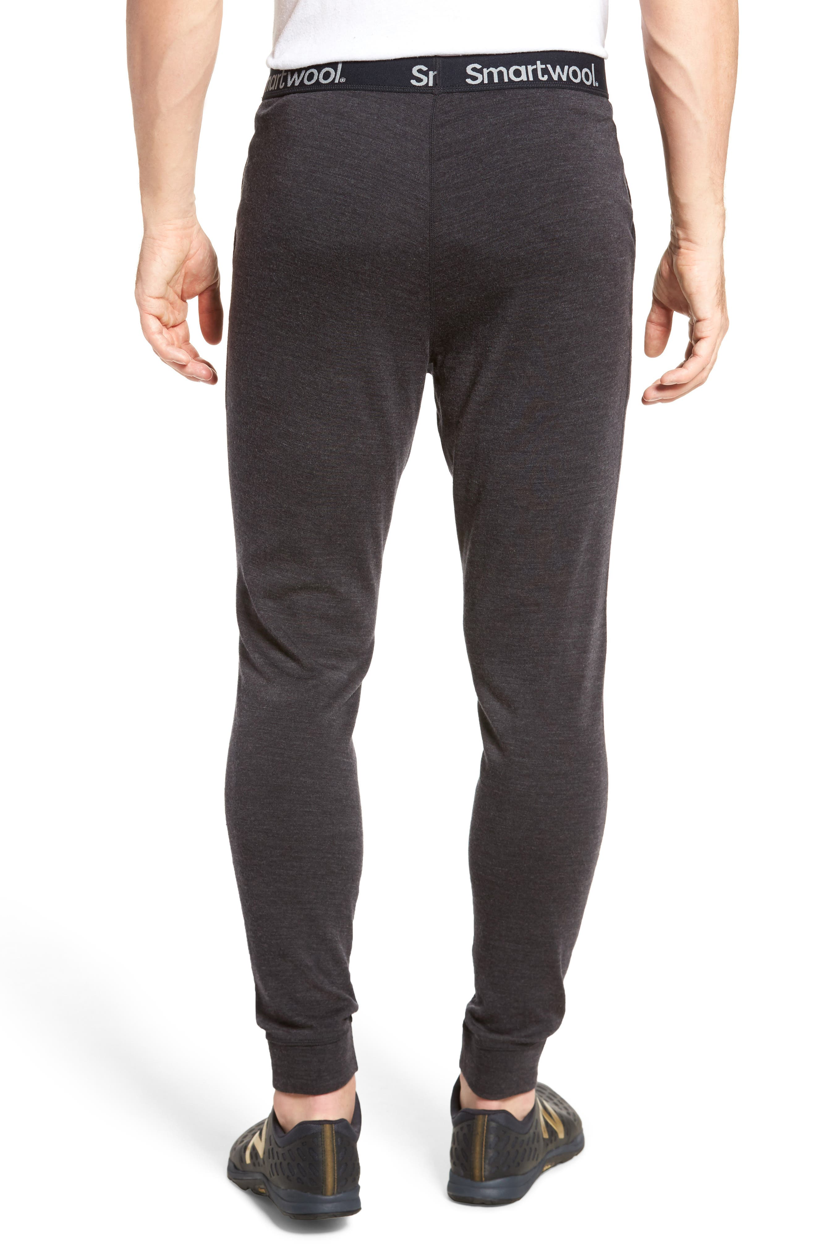 250 Merino Wool Jogger Pants,                             Alternate thumbnail 2, color,                             Charcoal