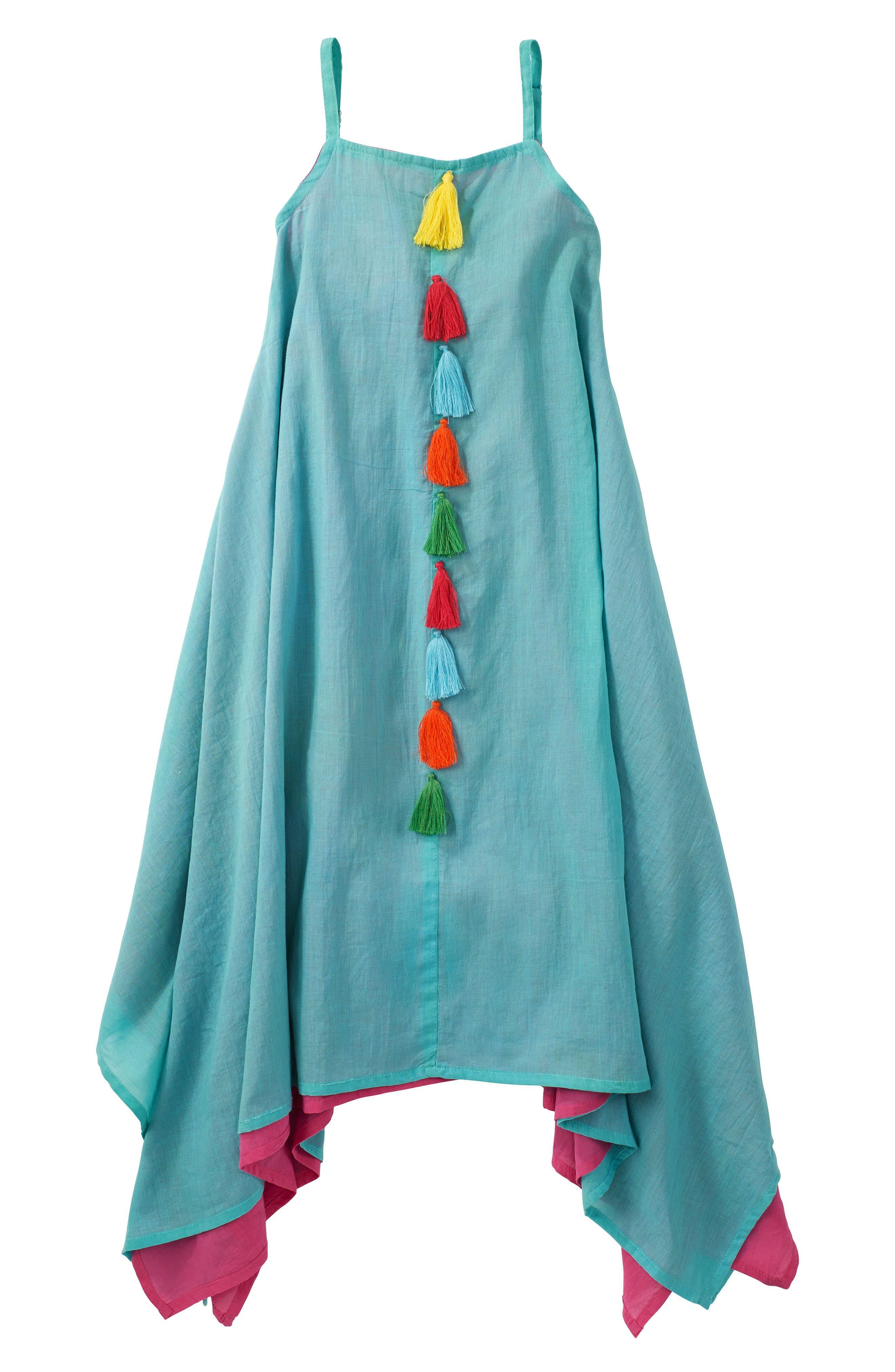 Main Image - Masalababy Citra Tassel Dress (Toddler Girls)