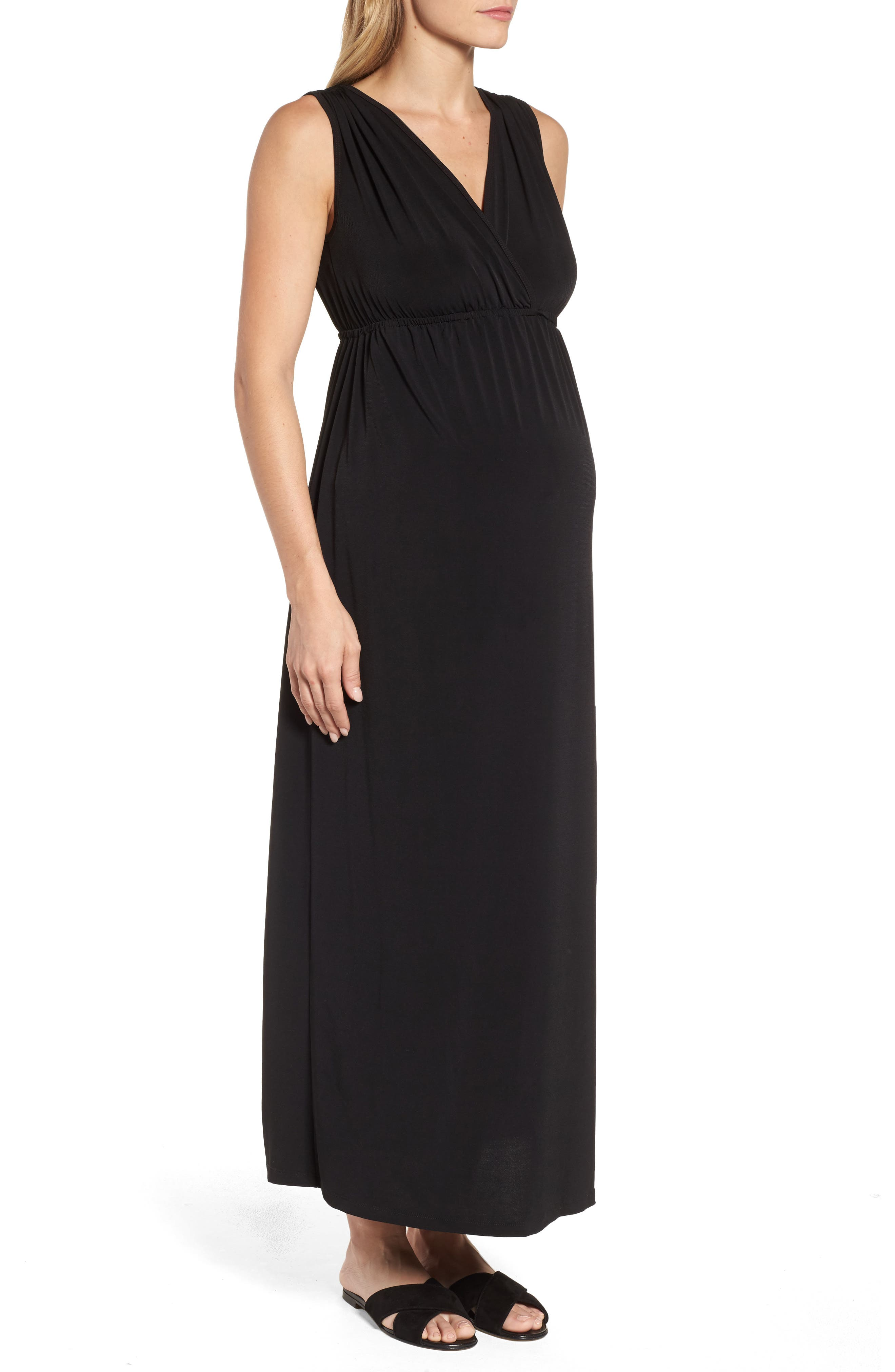 Alternate Image 3  - Maternal America Maxi Dress