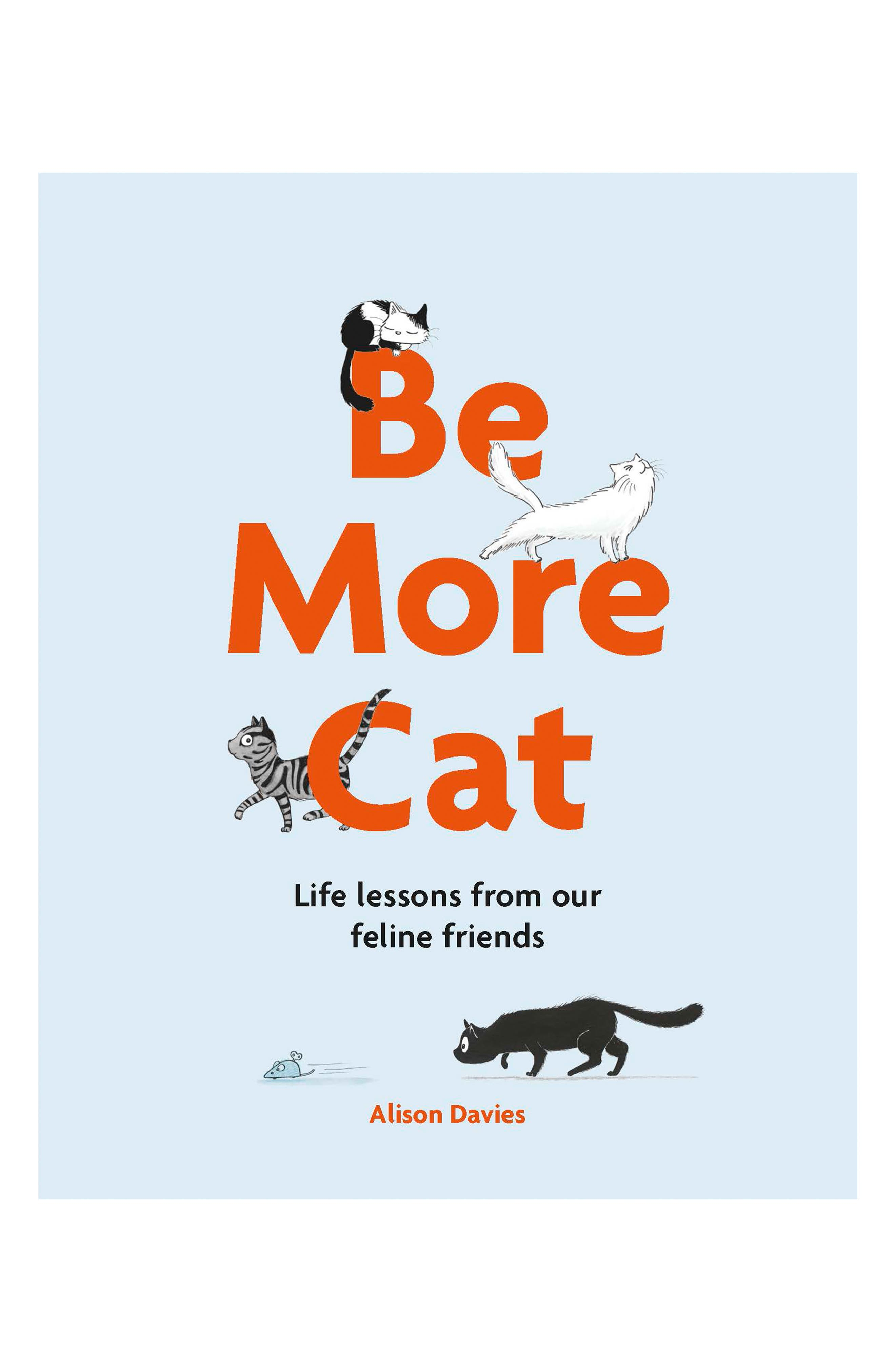 Be More Cat Book,                         Main,                         color, Blue