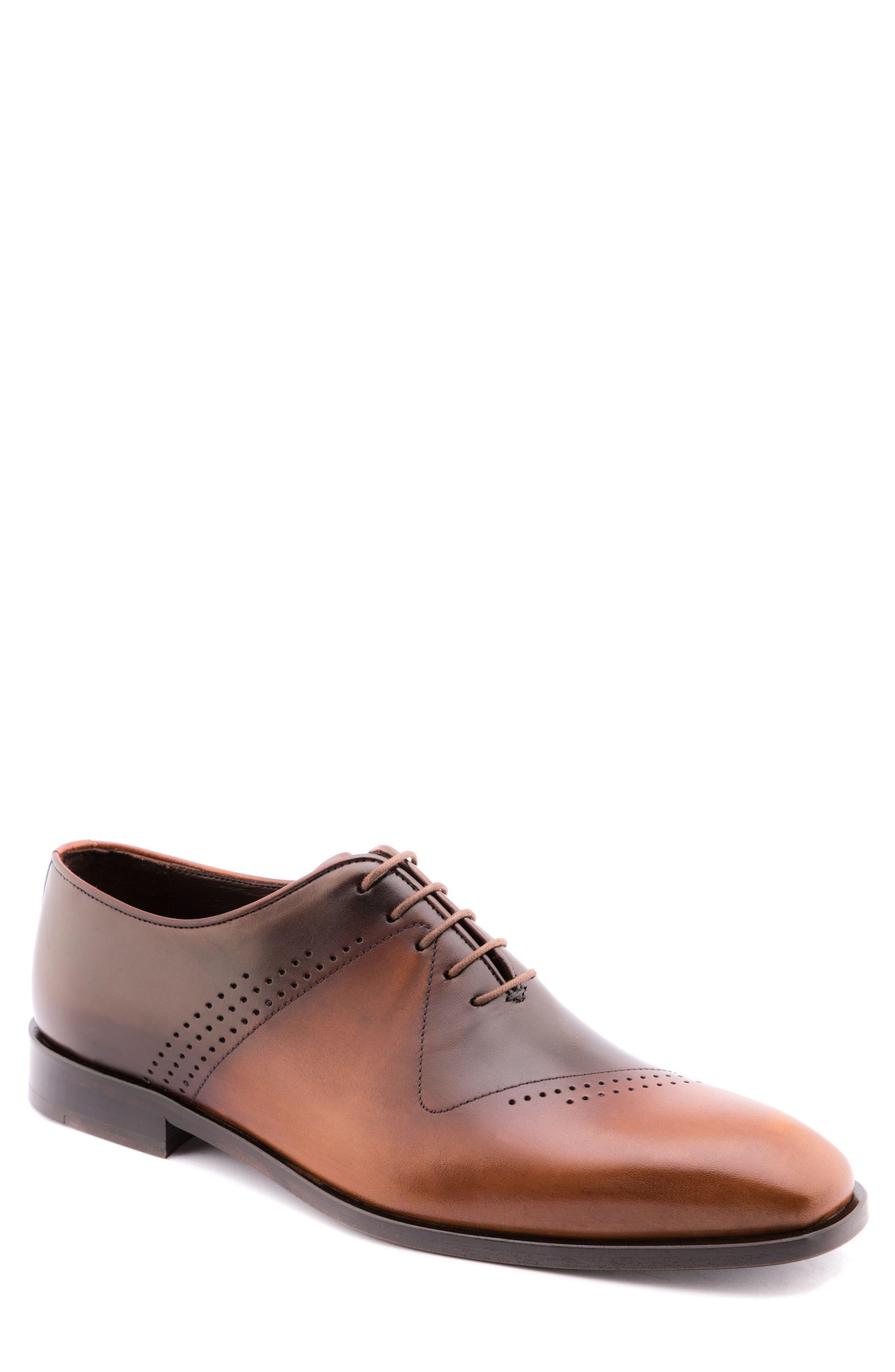 Alternate Image 1 Selected - Jared Lang Buffer Plain Toe Oxford (Men)