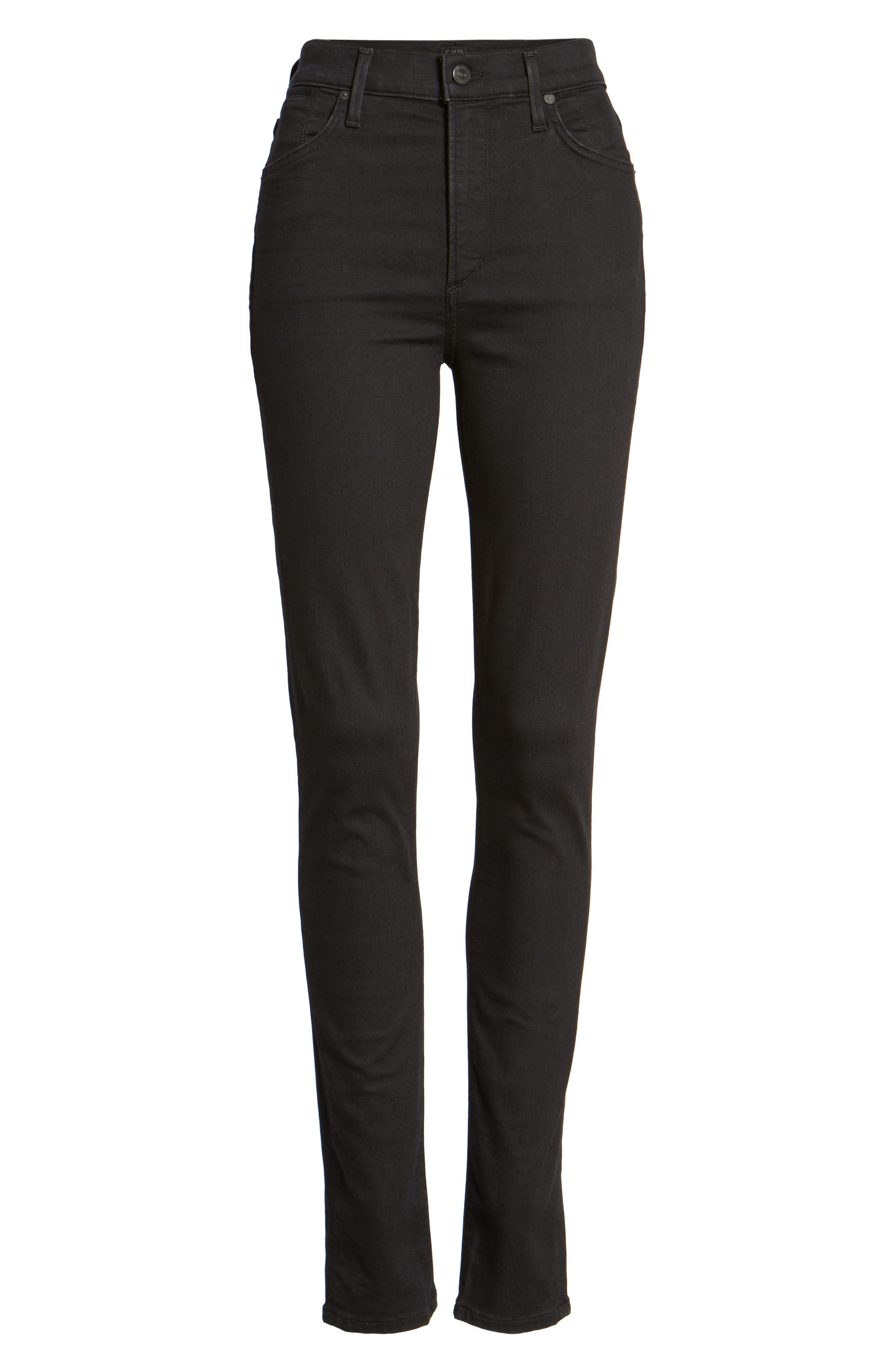 Alternate Image 6  - Citizens of Humanity Carlie High Waist Skinny Jeans (All Night)
