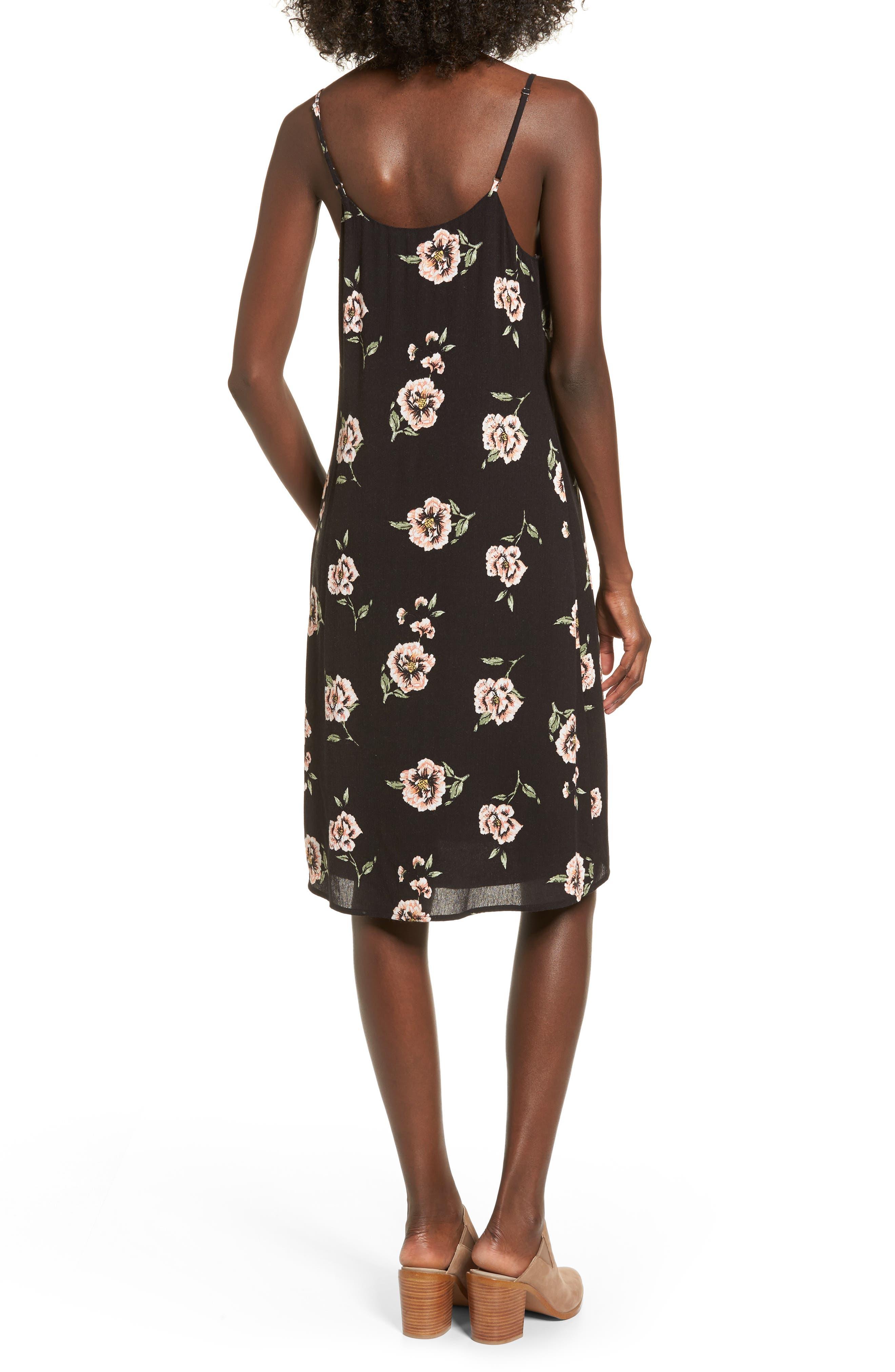 Alternate Image 2  - Dee Elly Floral Slipdress