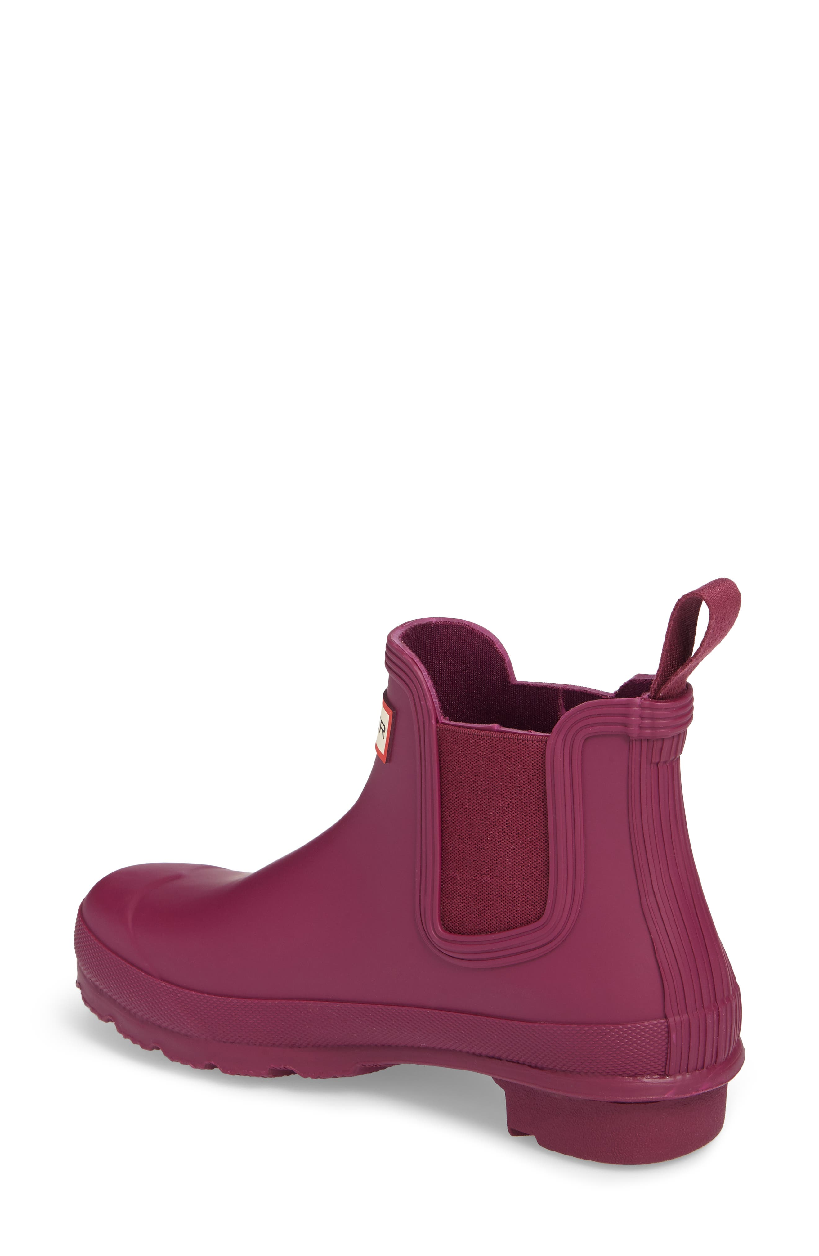 'Original' Waterproof Chelsea Rain Boot,                             Alternate thumbnail 2, color,                             Violet