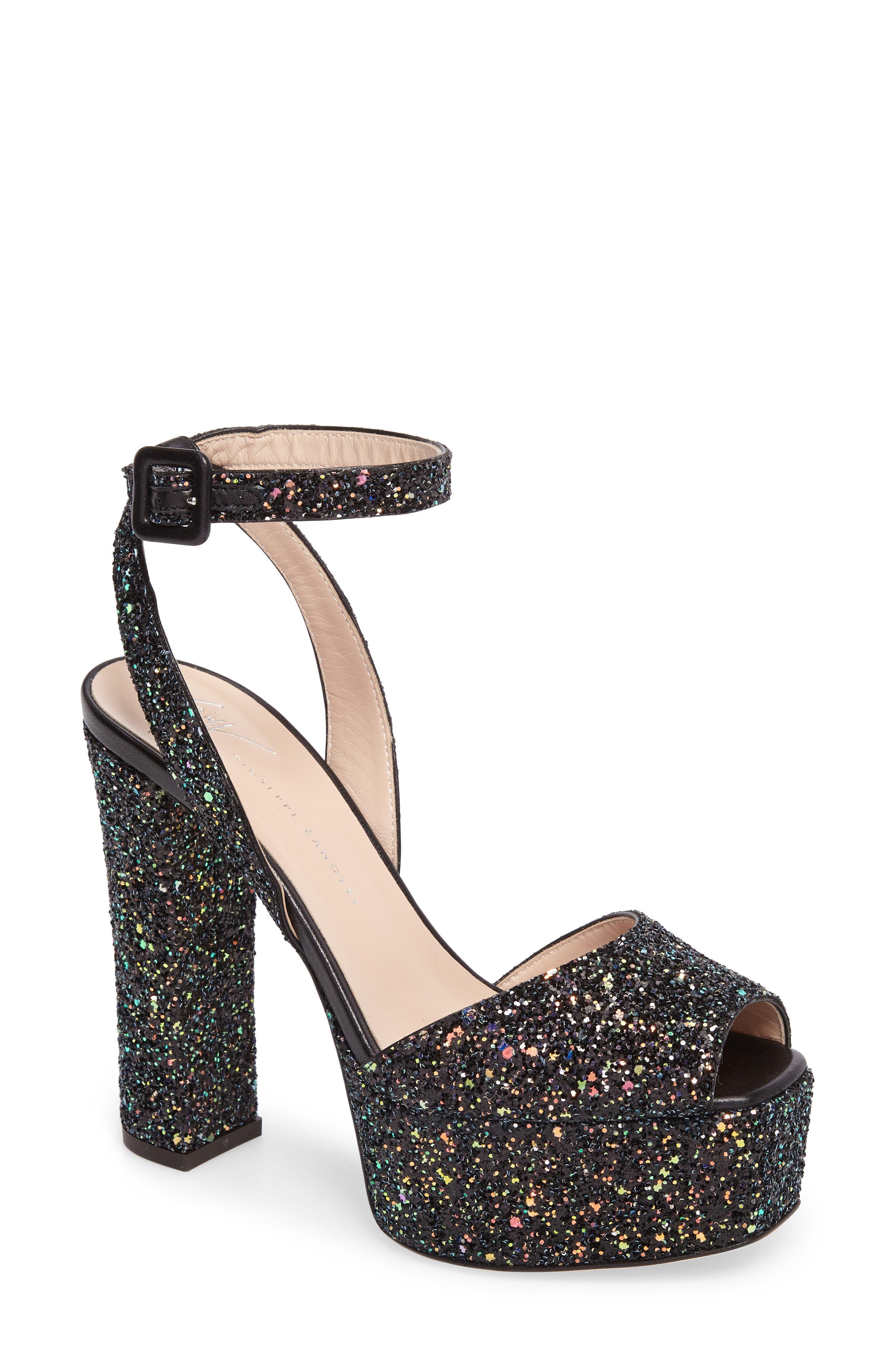 Giuseppe Zanotti Lavinia Ankle Strap Platform Sandal (Women)