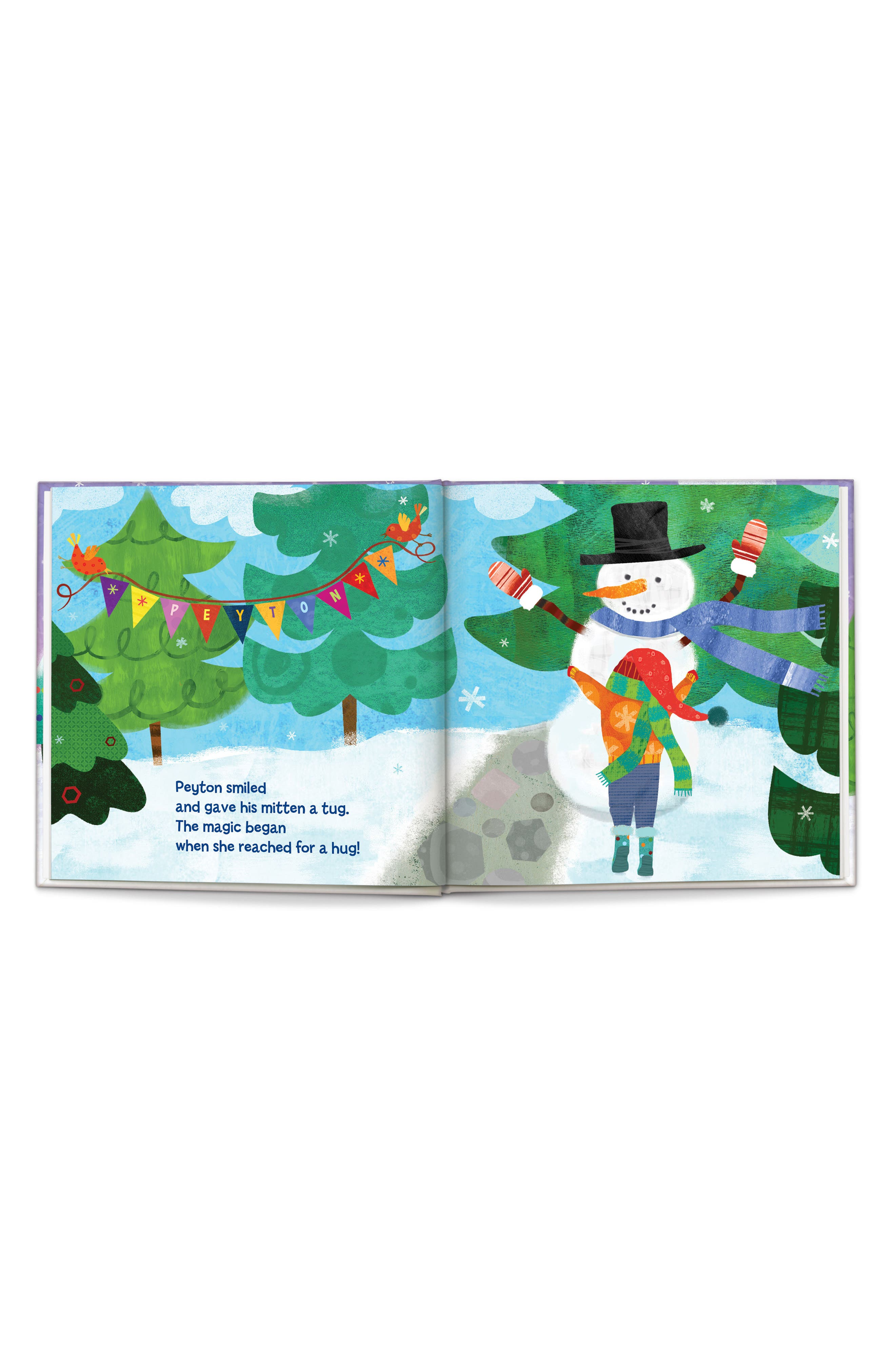 'My Magical Snowman' Personalized Storybook,                             Alternate thumbnail 3, color,                             Purple