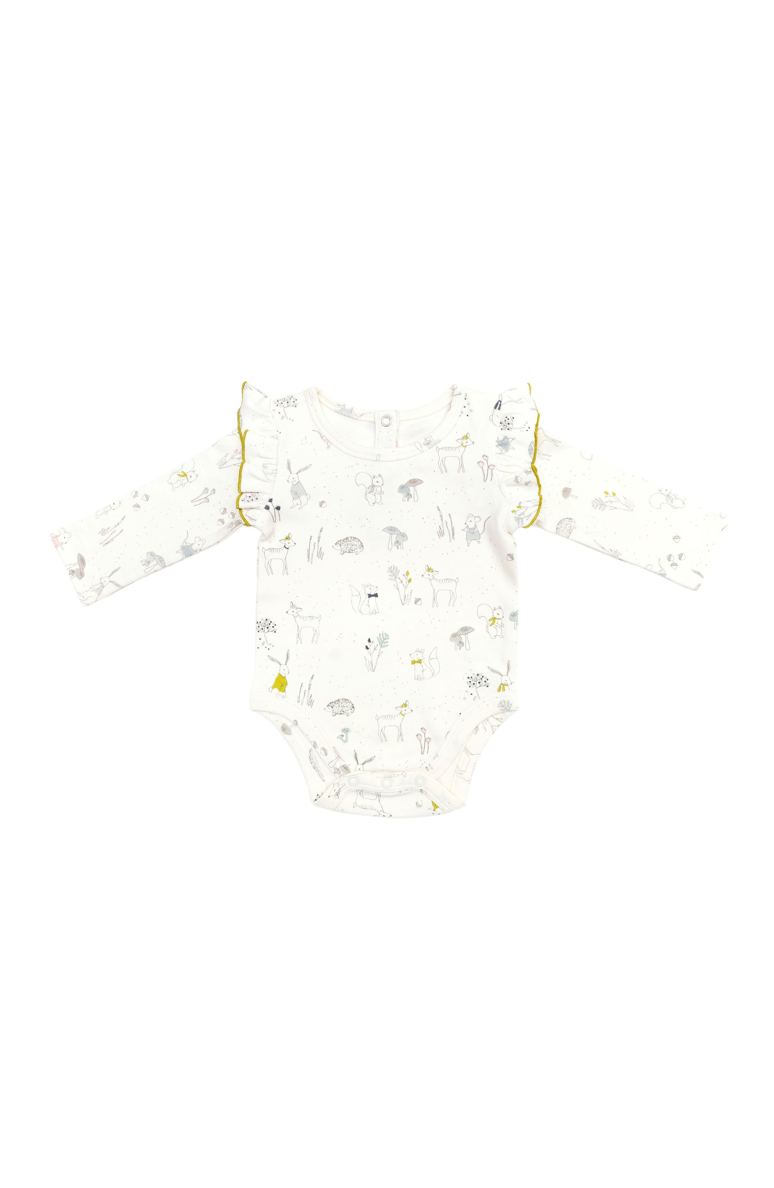 Petit Pehr Magical Forest Bodysuit (Baby Girls)