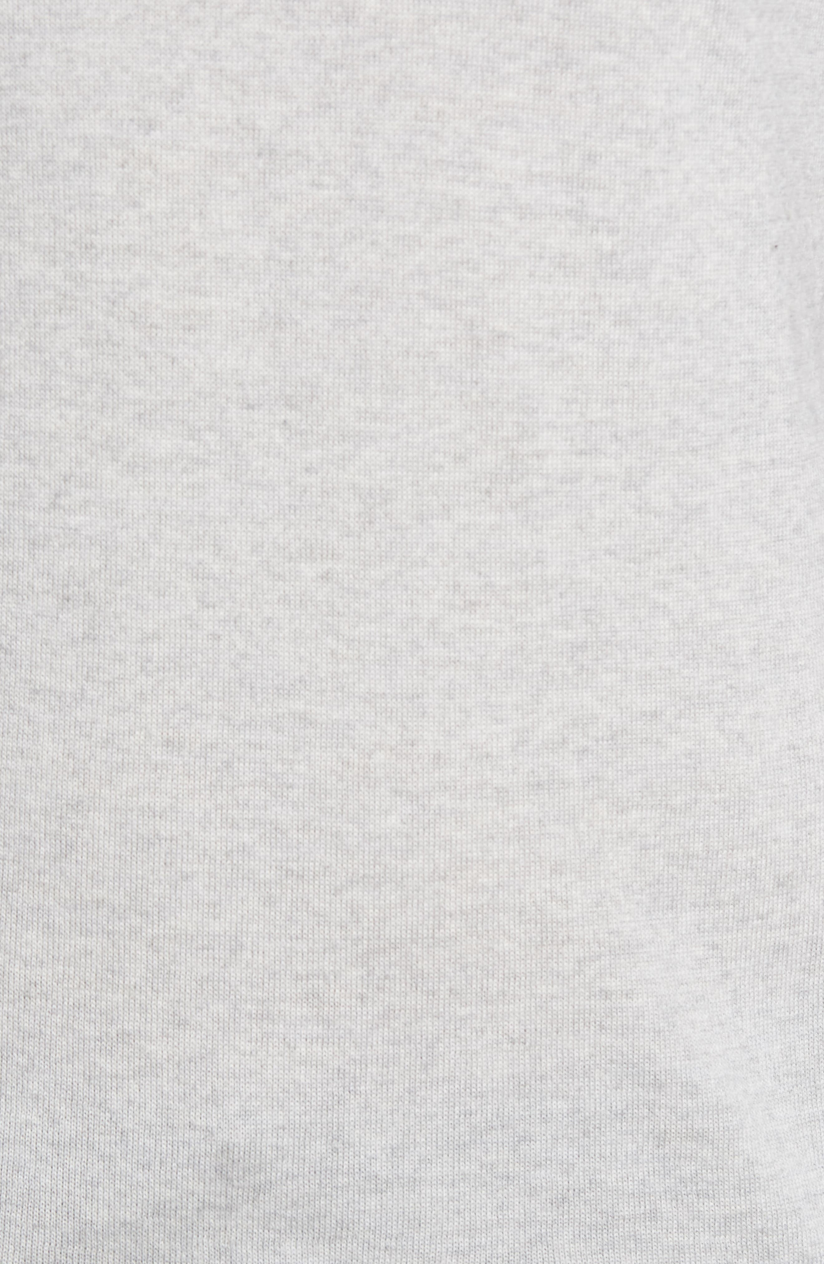 Virgin Wool Crewneck Sweater,                             Alternate thumbnail 5, color,                             Light Grey