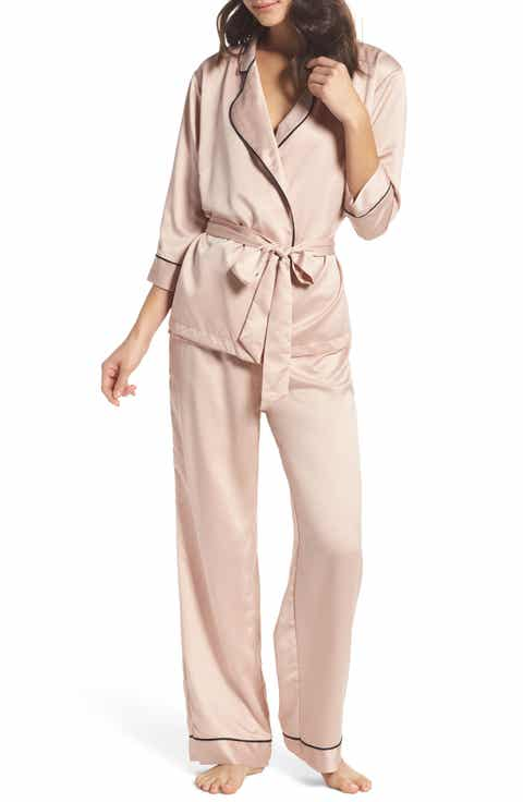 BLUEBELLA Wren Satin Pajamas