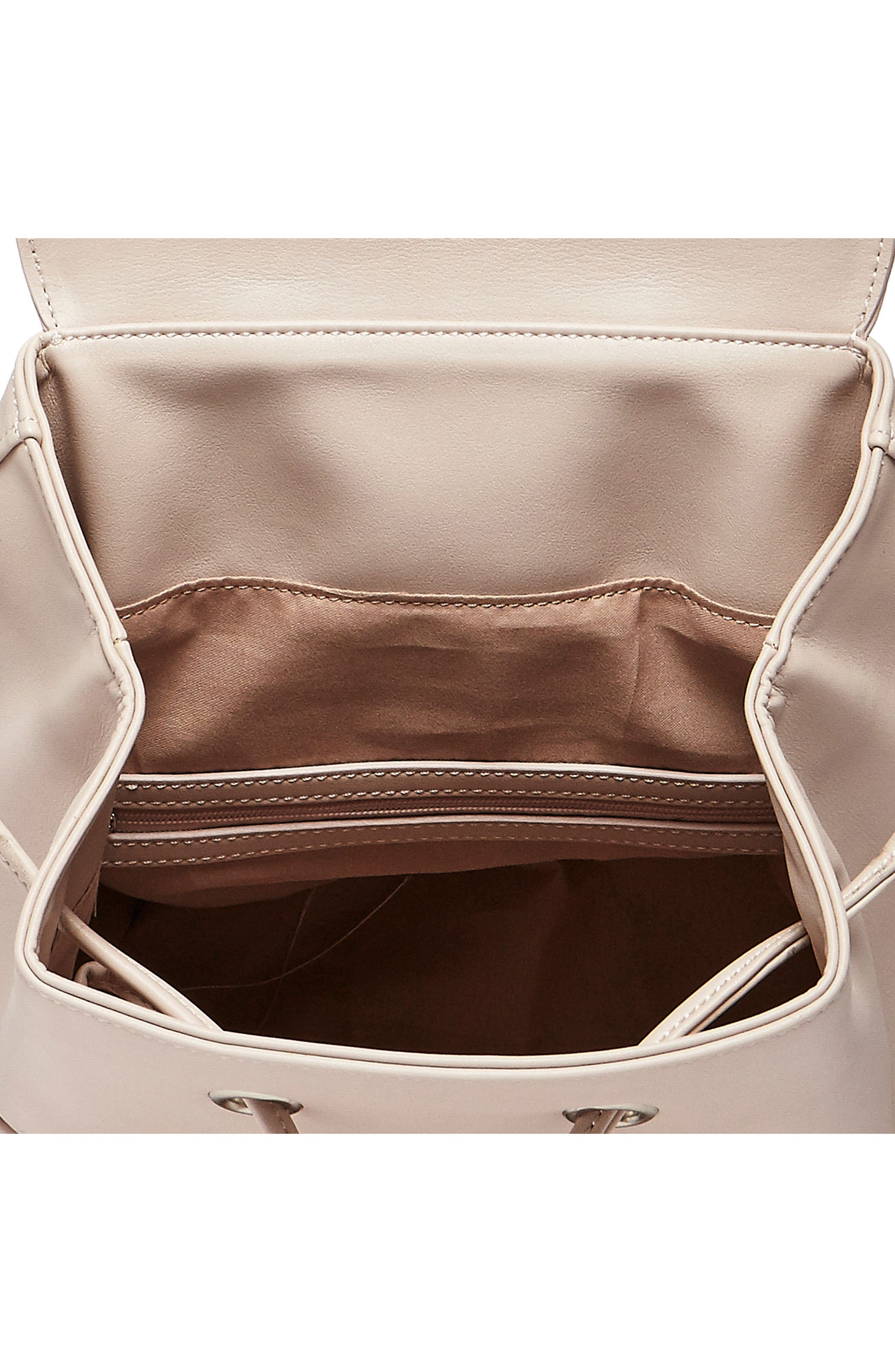 Alternate Image 3  - Urban Originals Dream Girl Vegan Leather Backpack