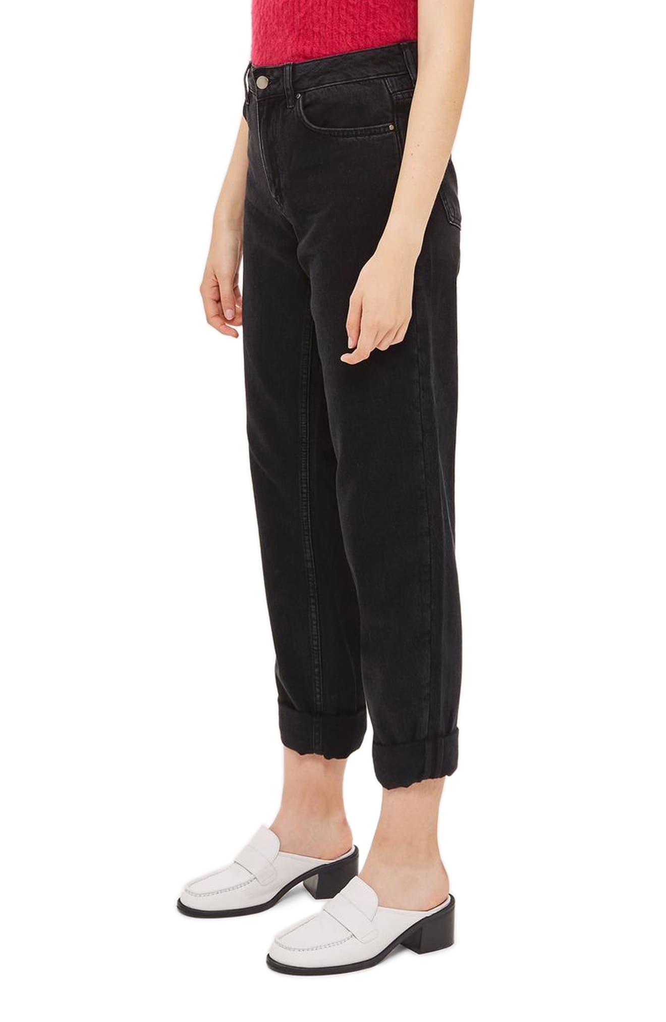Alternate Image 3  - Topshop Boutique Boyfriend Jeans