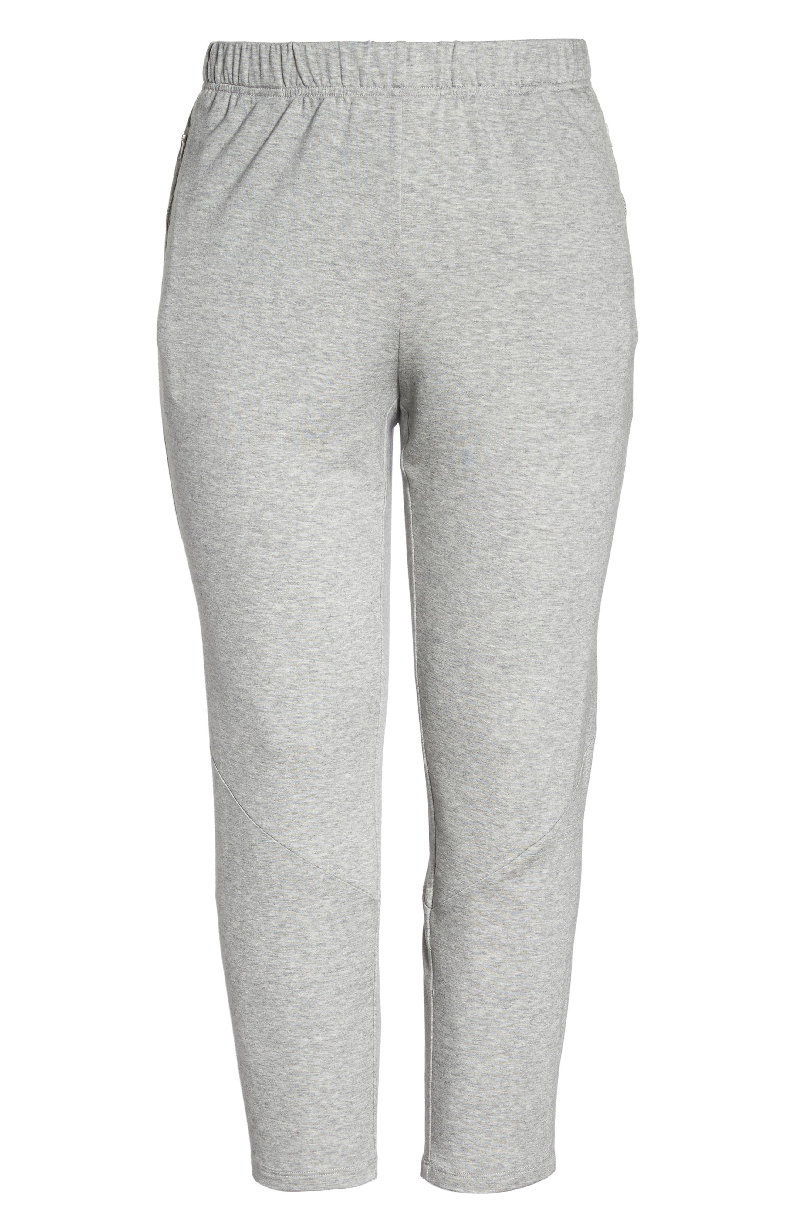 Slouchy Stretch Pants,                             Alternate thumbnail 6, color,                             Dark Pearl