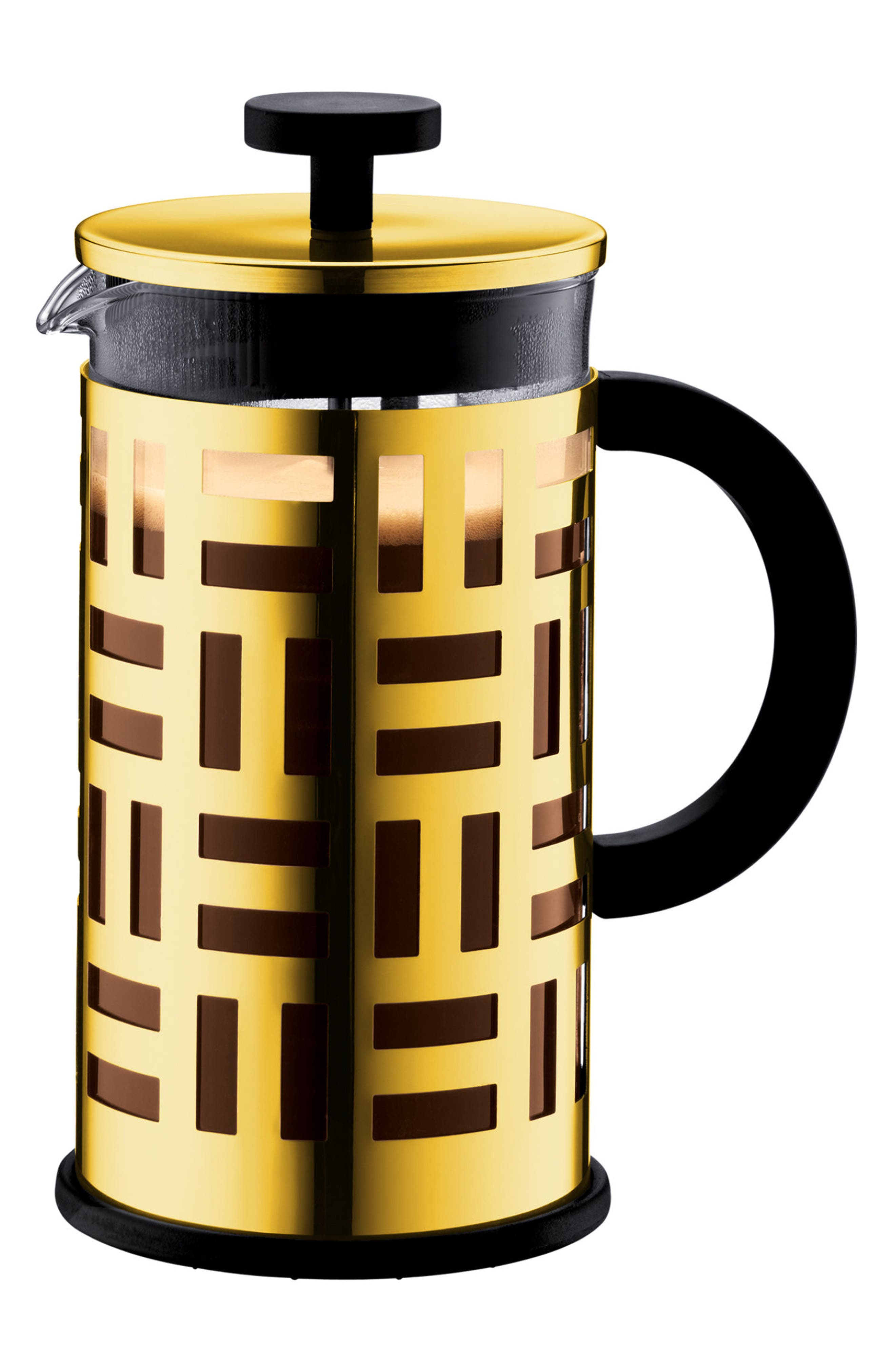 'Eileen' 8-Cup French Press,                         Main,                         color, Gold
