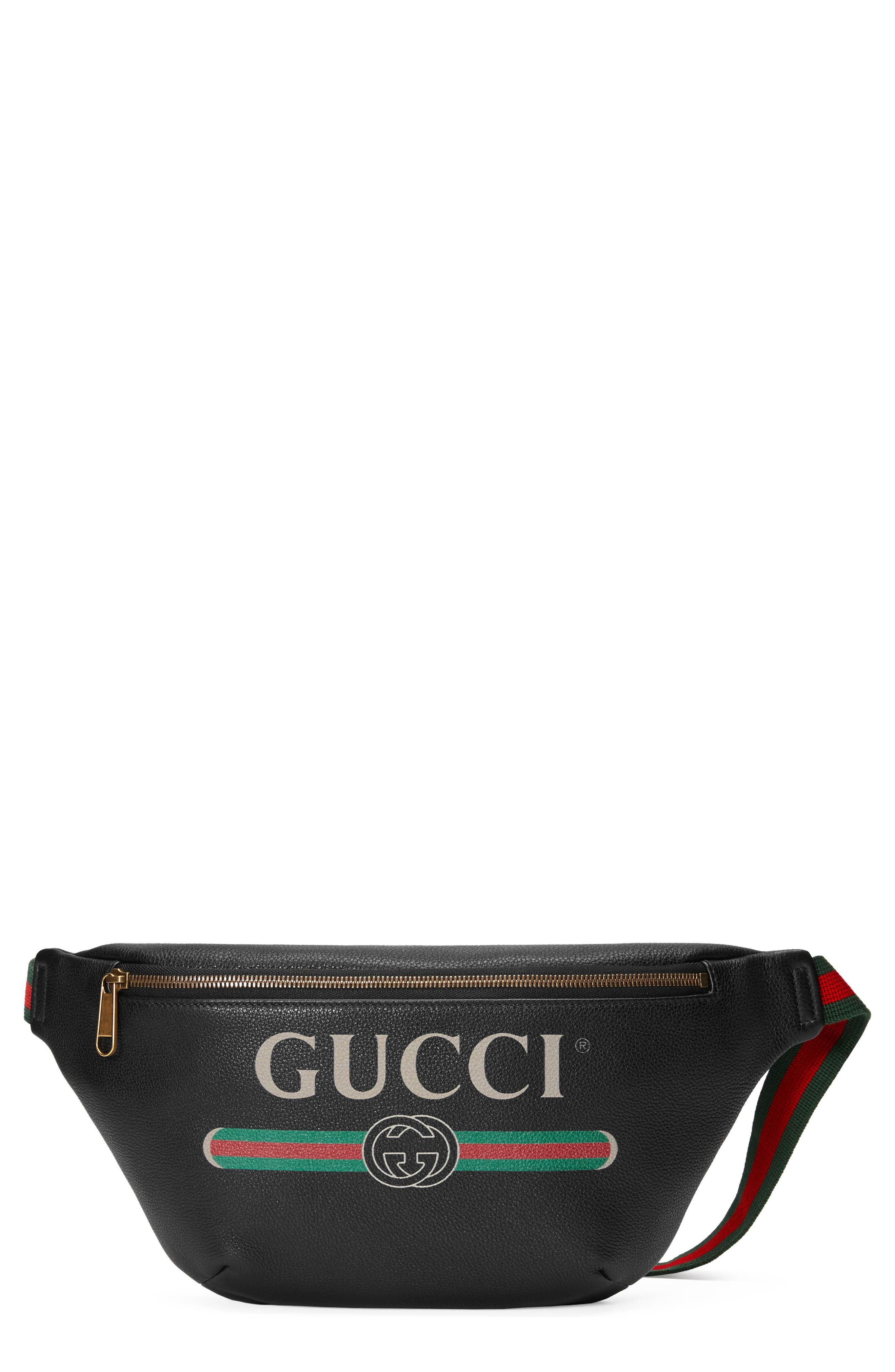 Gucci Leather Hip Pack