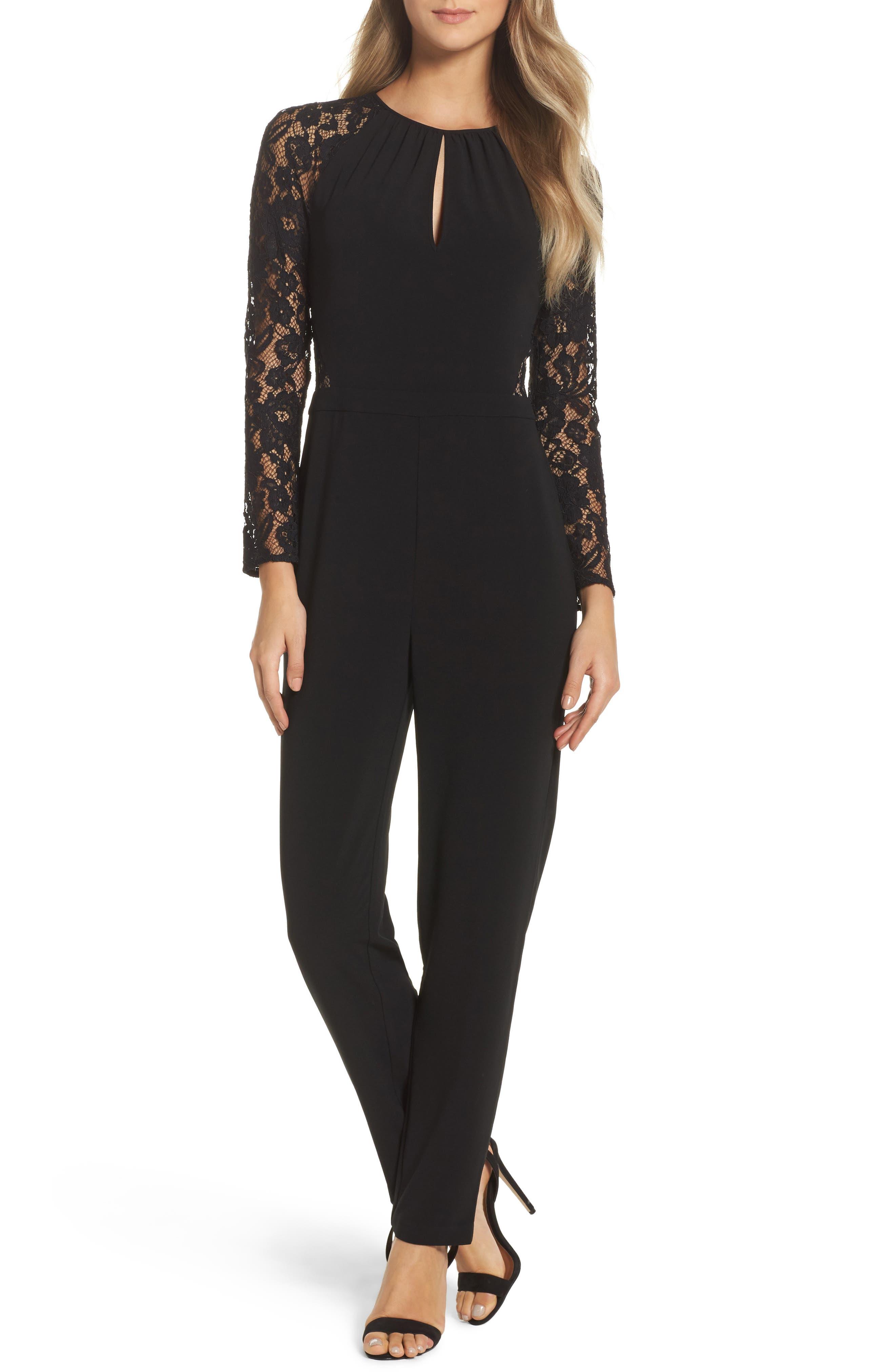 Magnifique Jumpsuit,                         Main,                         color, Black