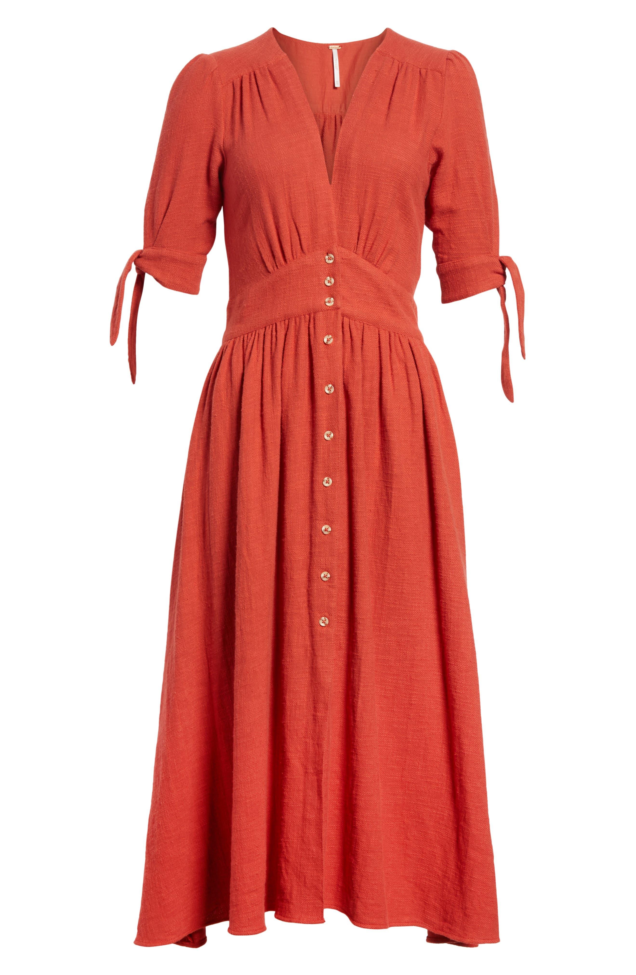Alternate Image 6  - Free People Love of My Life Midi Dress