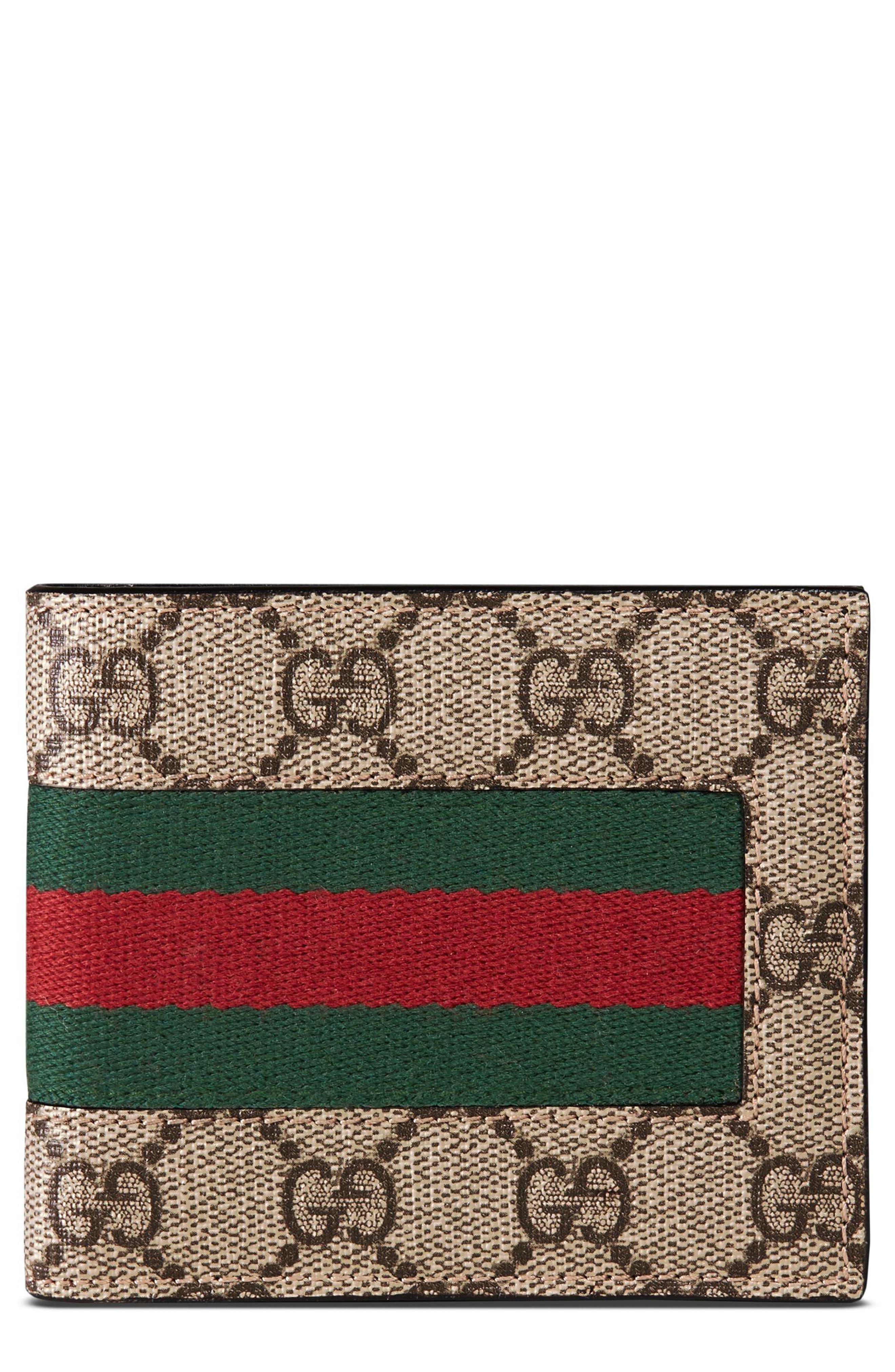 Supreme Wallet,                             Main thumbnail 1, color,                             Tan