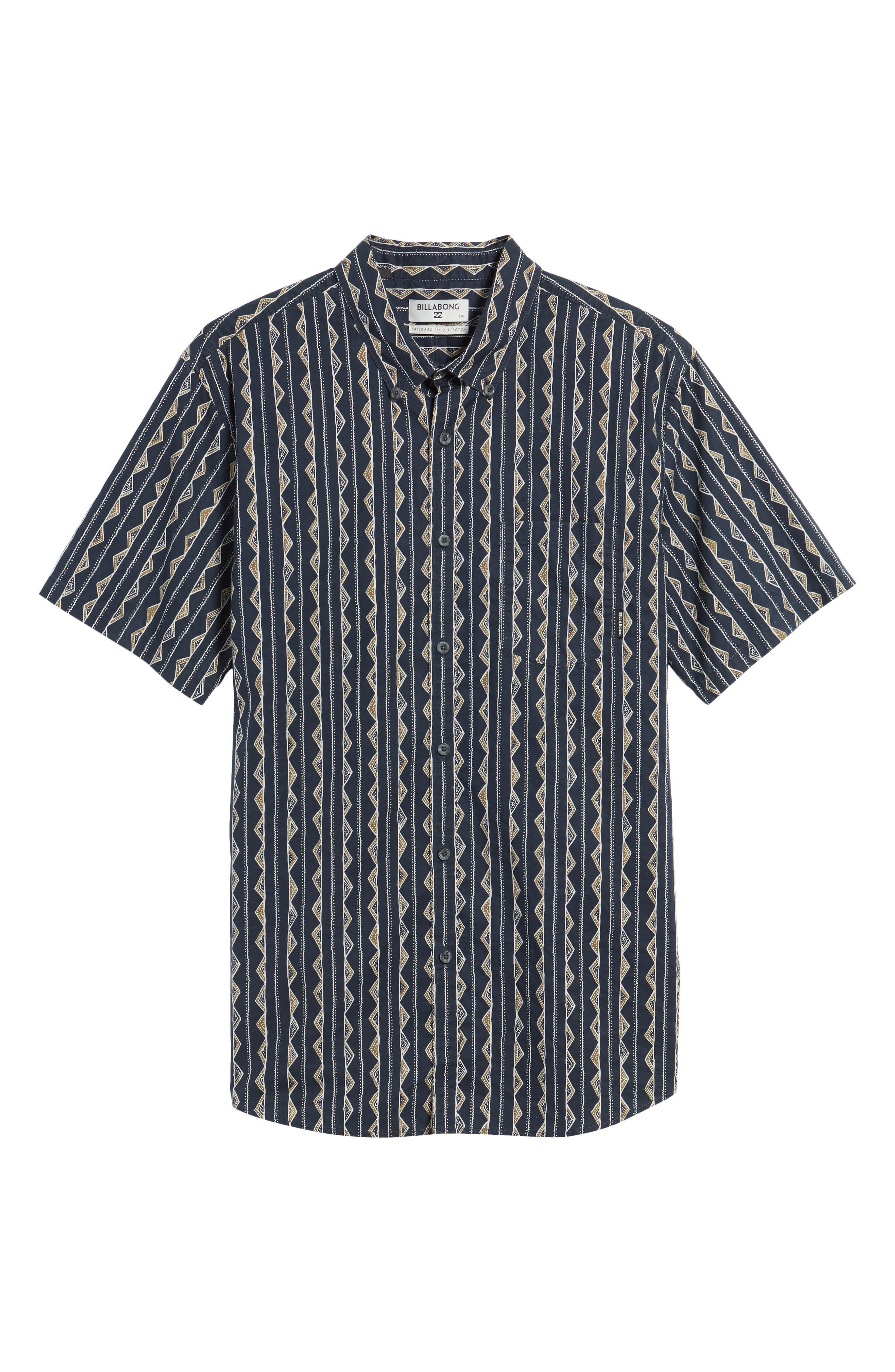 Sundays Sport Shirt,                             Alternate thumbnail 6, color,                             Navy