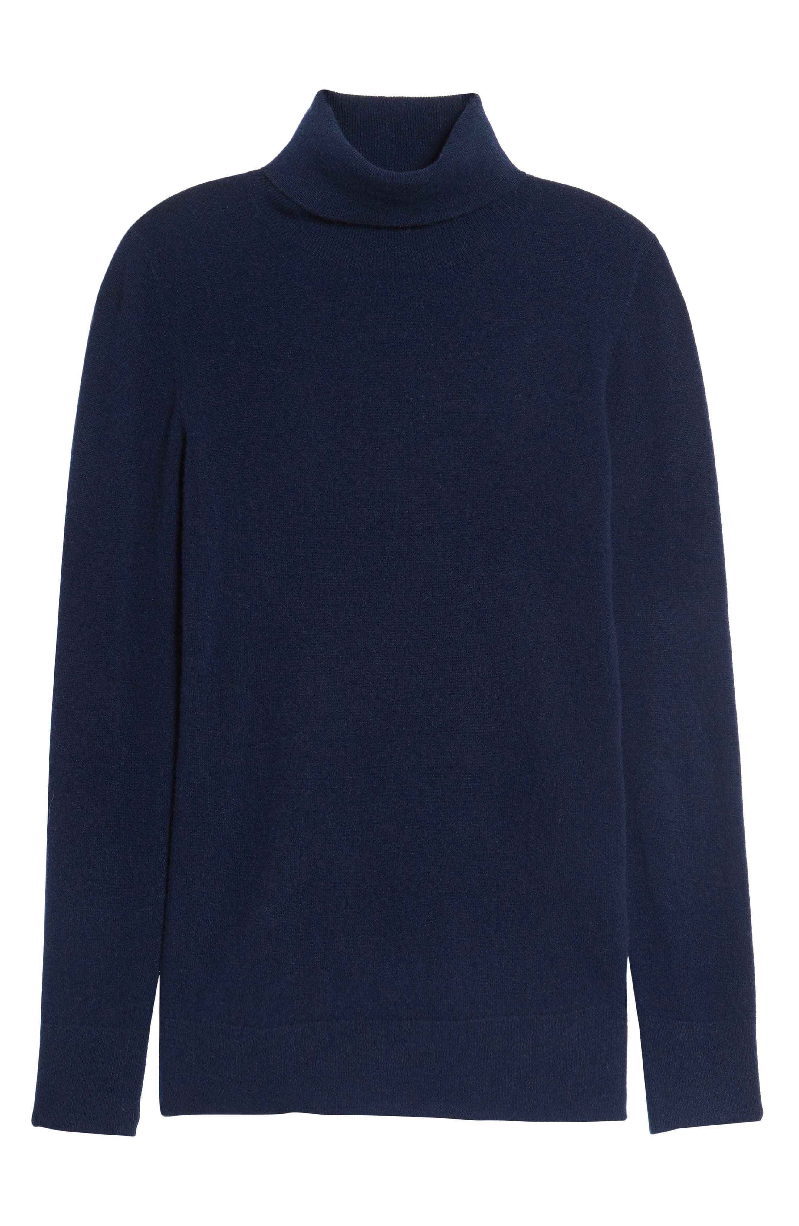 Alternate Image 6  - Nordstrom Signature Turtleneck Cashmere Sweater