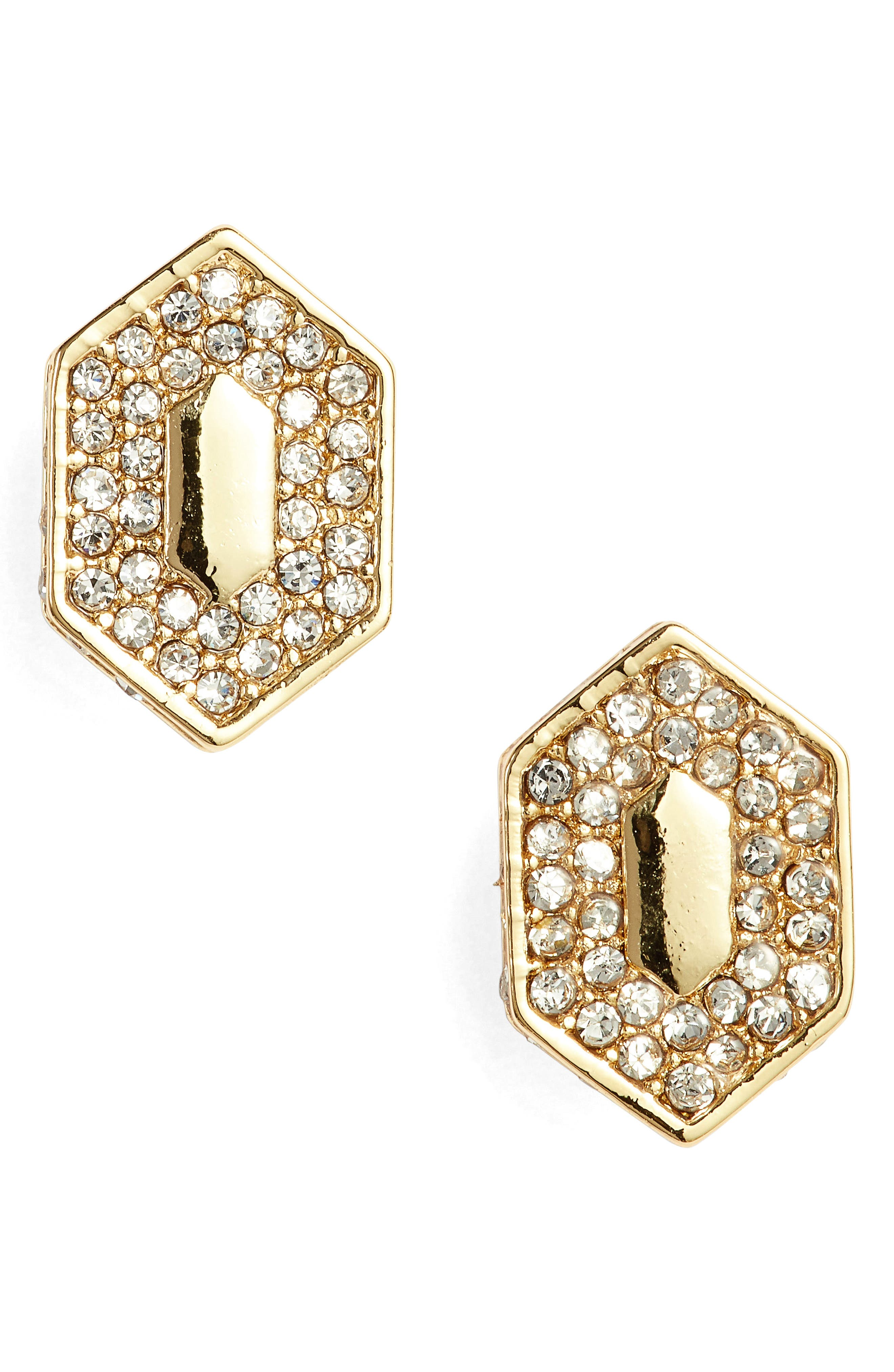 Main Image - Vince Camuto Pavé Crystal Stud Earrings