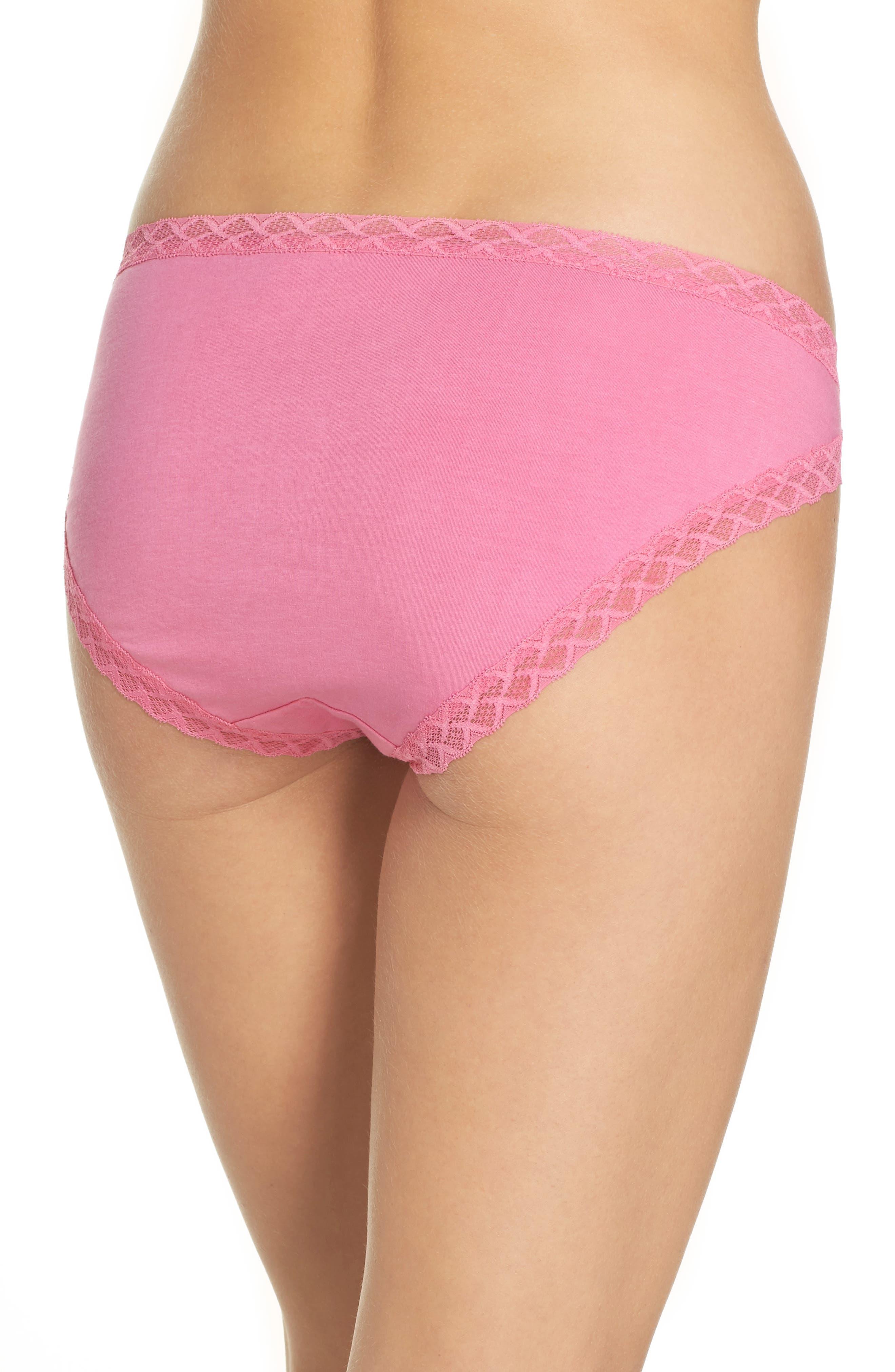 Alternate Image 2  - Natori Bliss Cotton Girl Briefs (3 for $45)