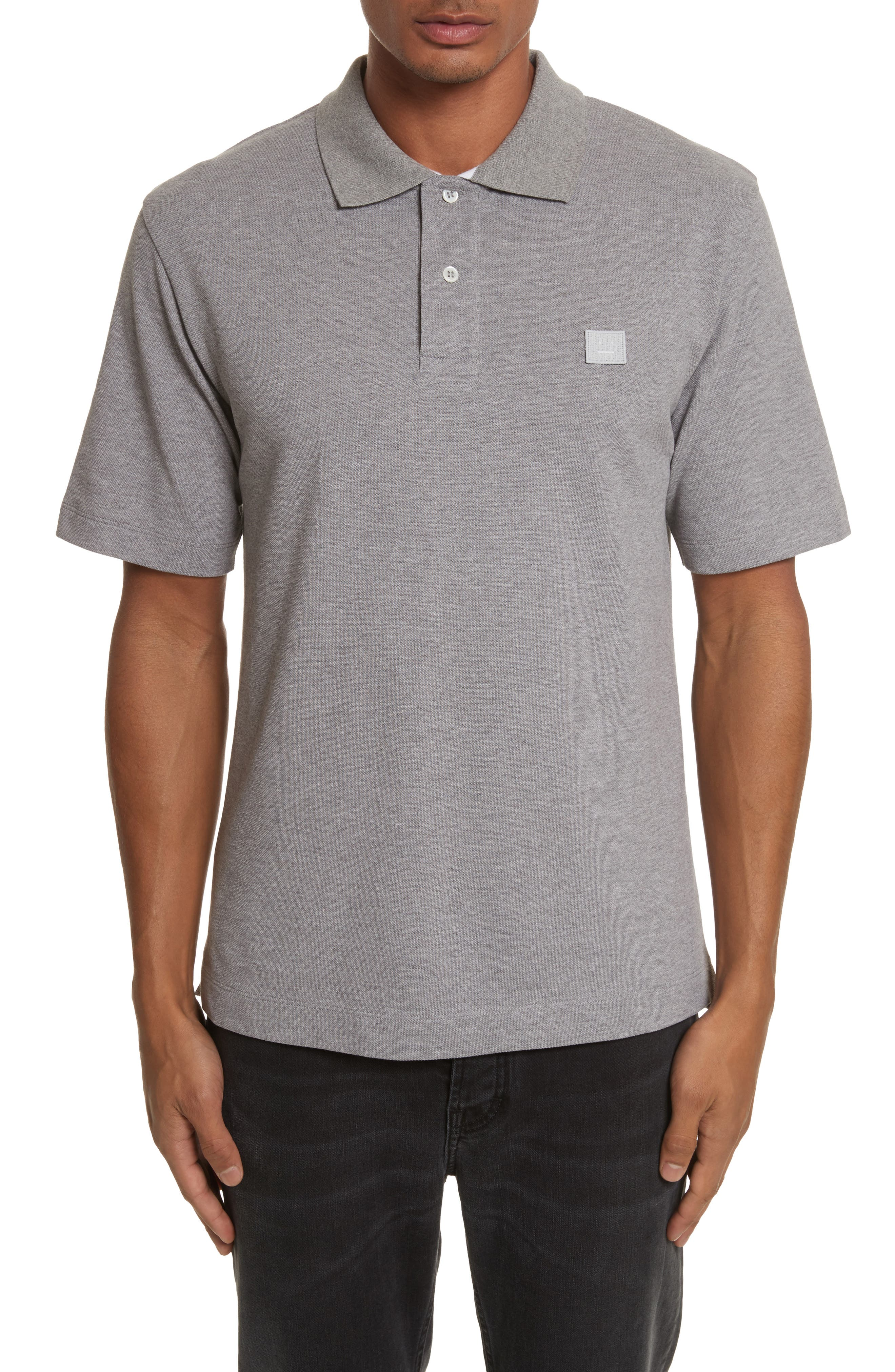 ACNE Studios Newark Face Patch Polo