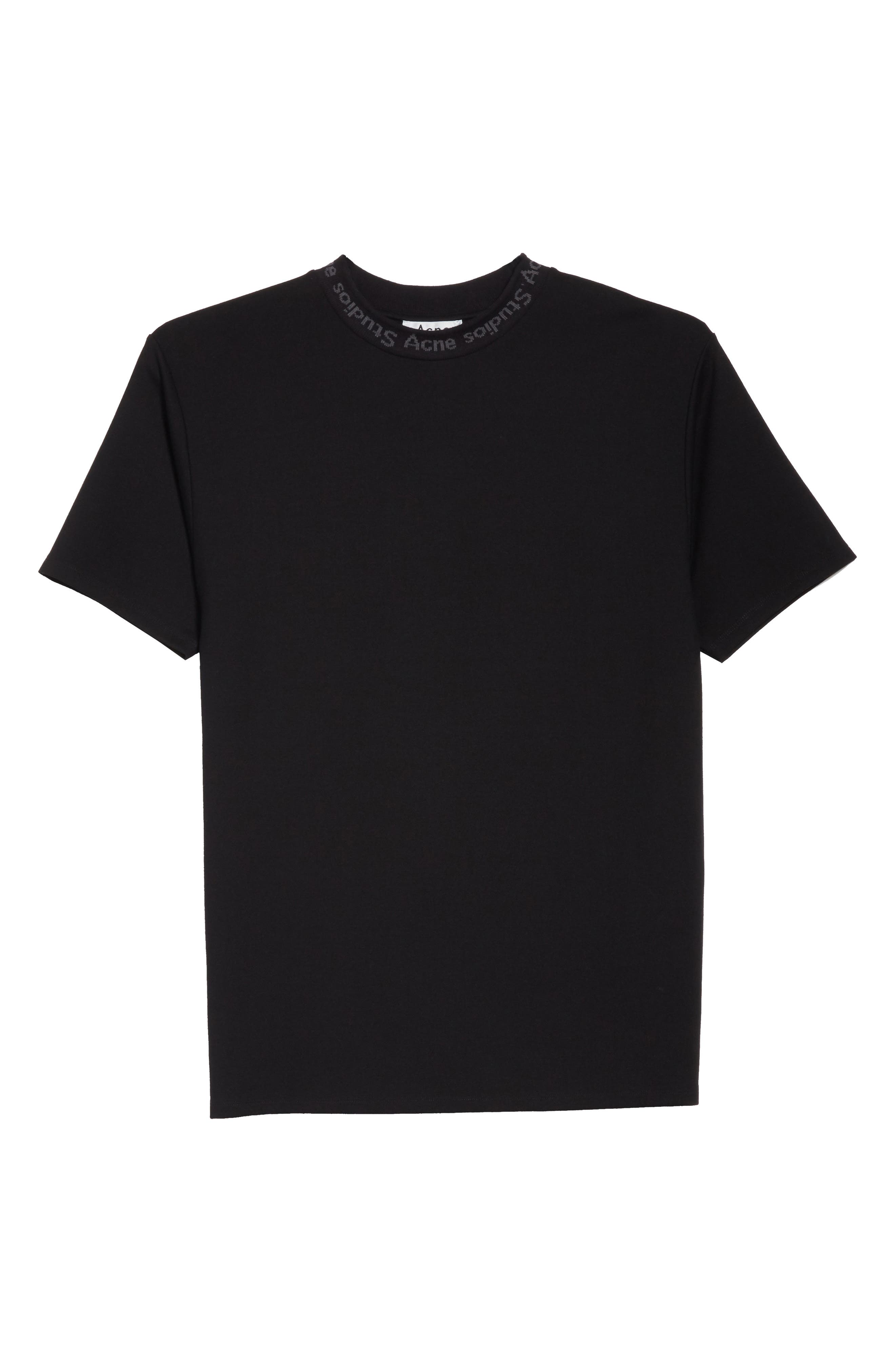 Alternate Image 6  - Acne Studios Navid Logo Collar T-Shirt