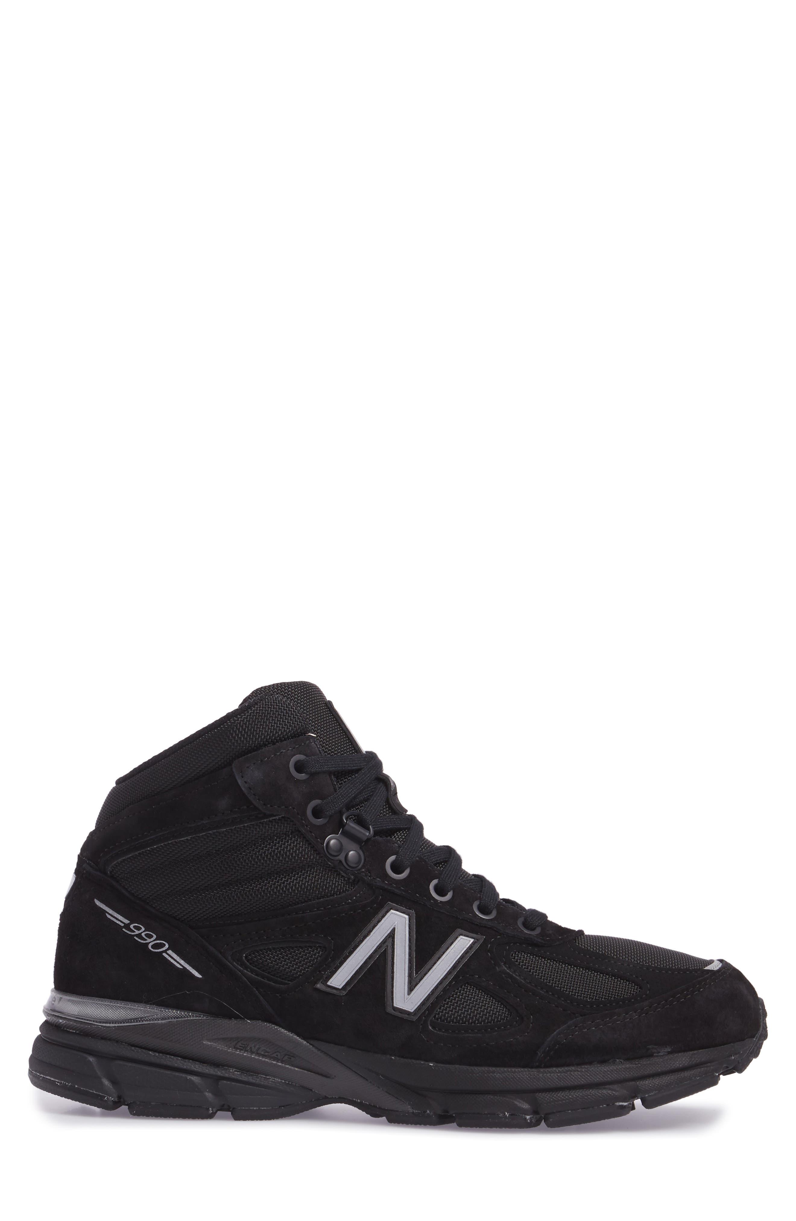 Alternate Image 3  - New Balance 990v4 Water Resistant Sneaker Boot (Men)