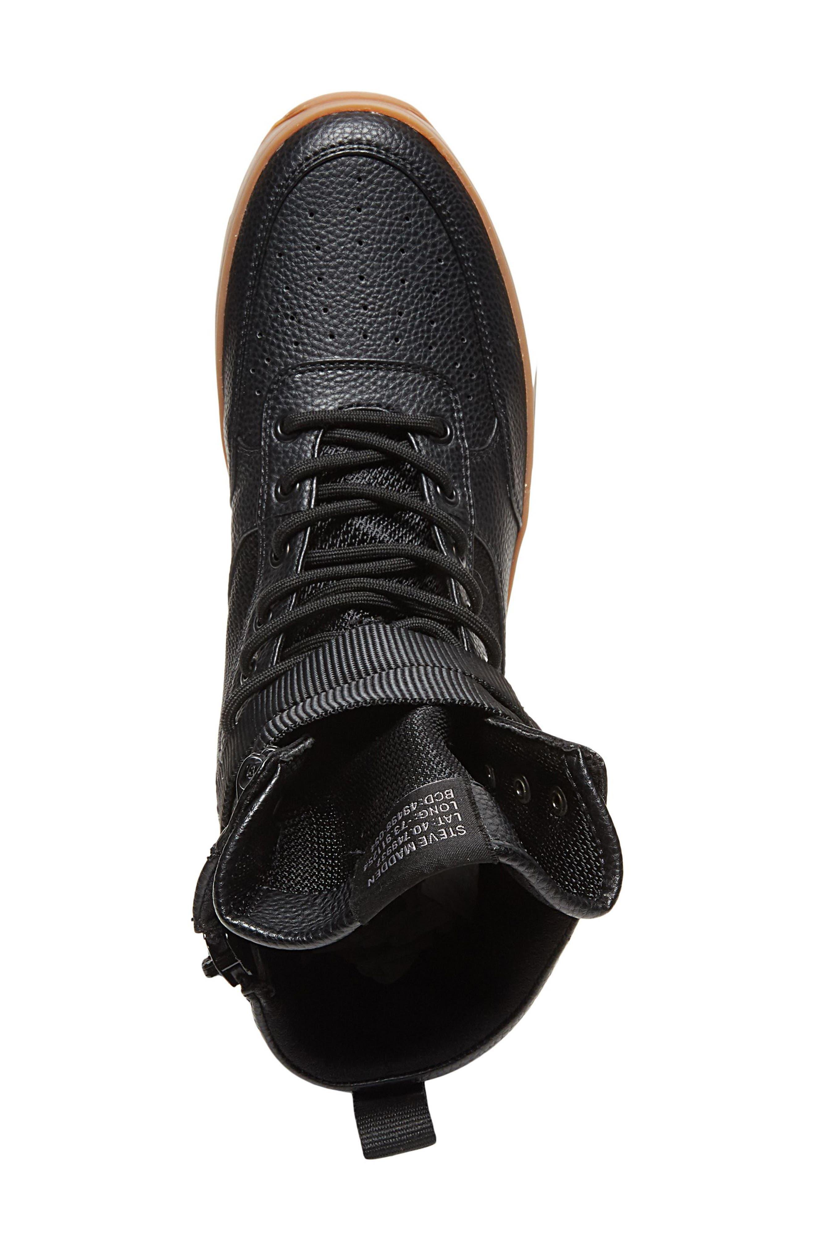 Zeroday Sneaker,                             Alternate thumbnail 4, color,                             Black