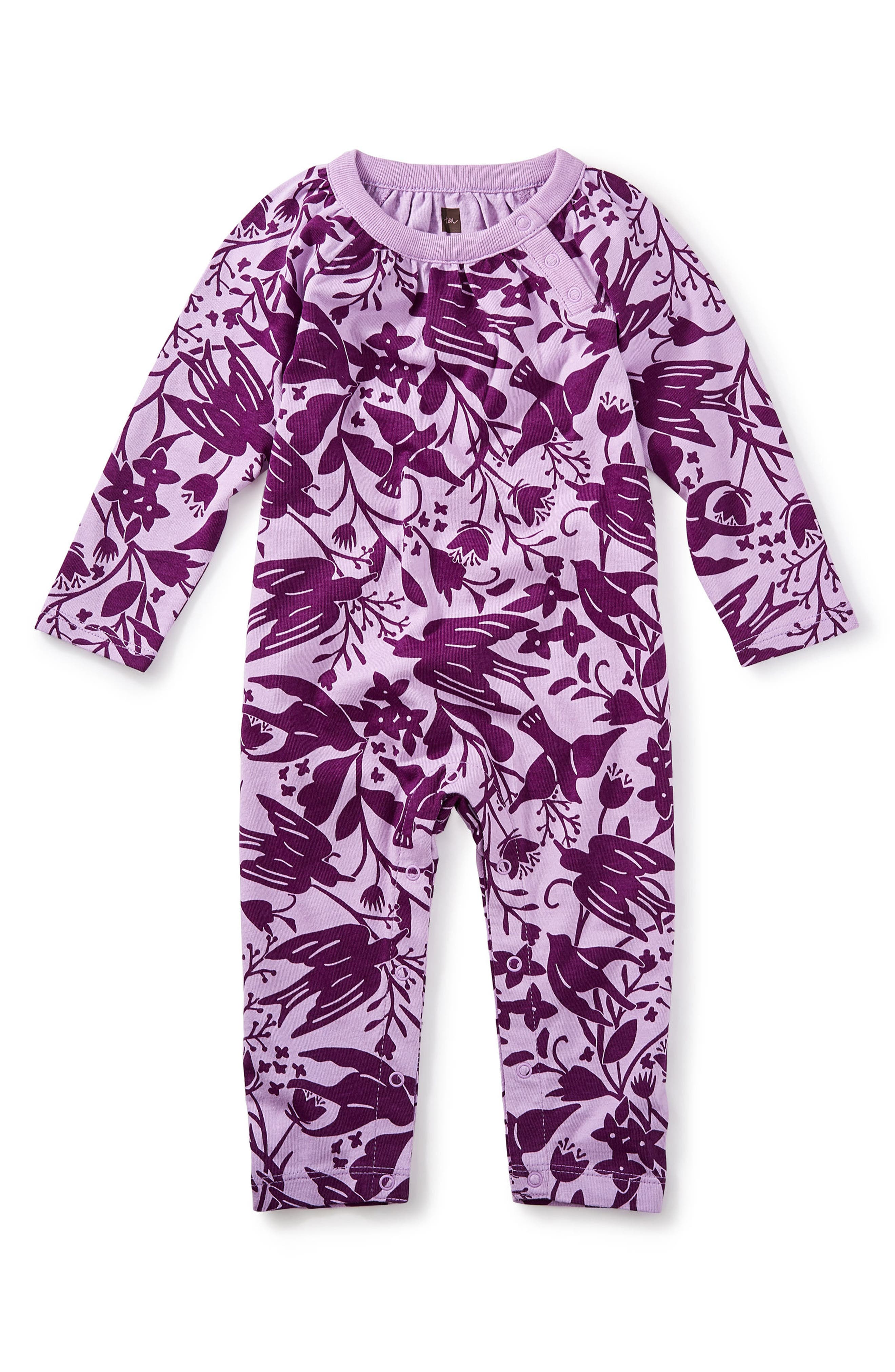 Tea Collection Free As A Bird Romper (Baby Girls)