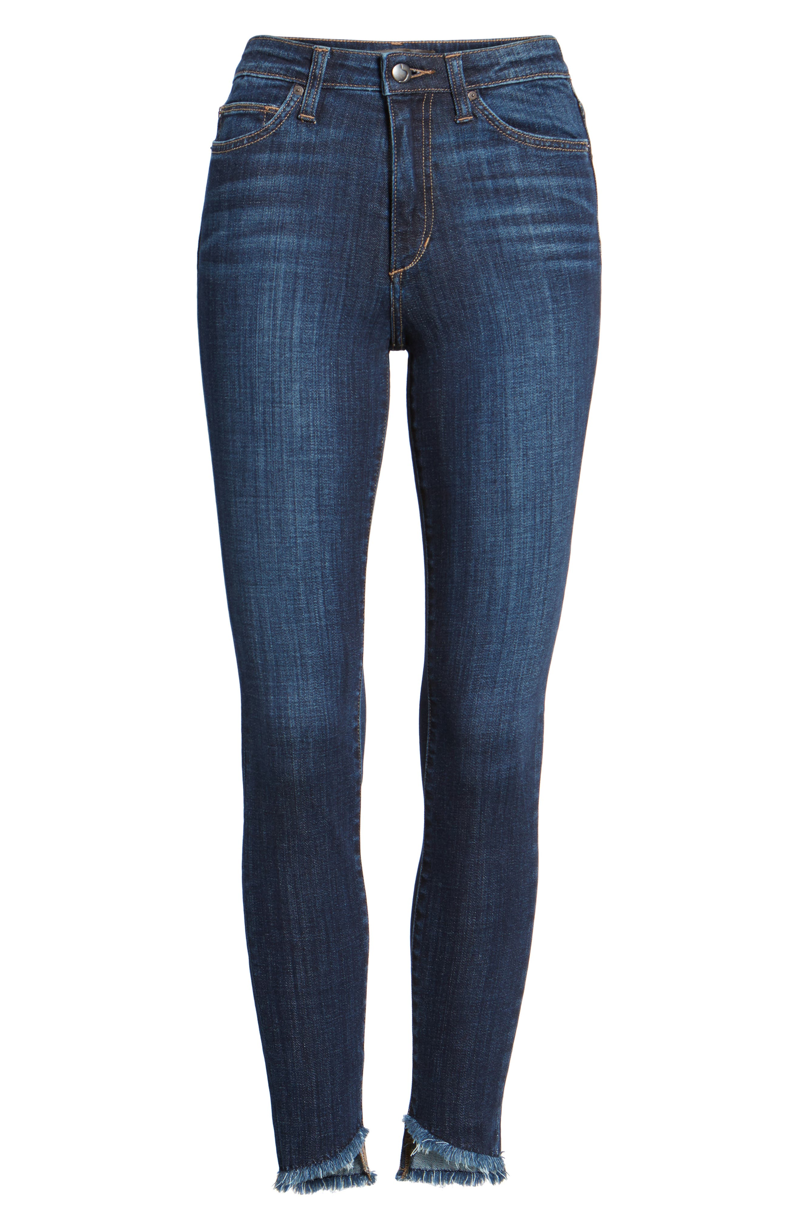 Charlies Blondie Hem Jeans,                             Alternate thumbnail 6, color,                             Marquita
