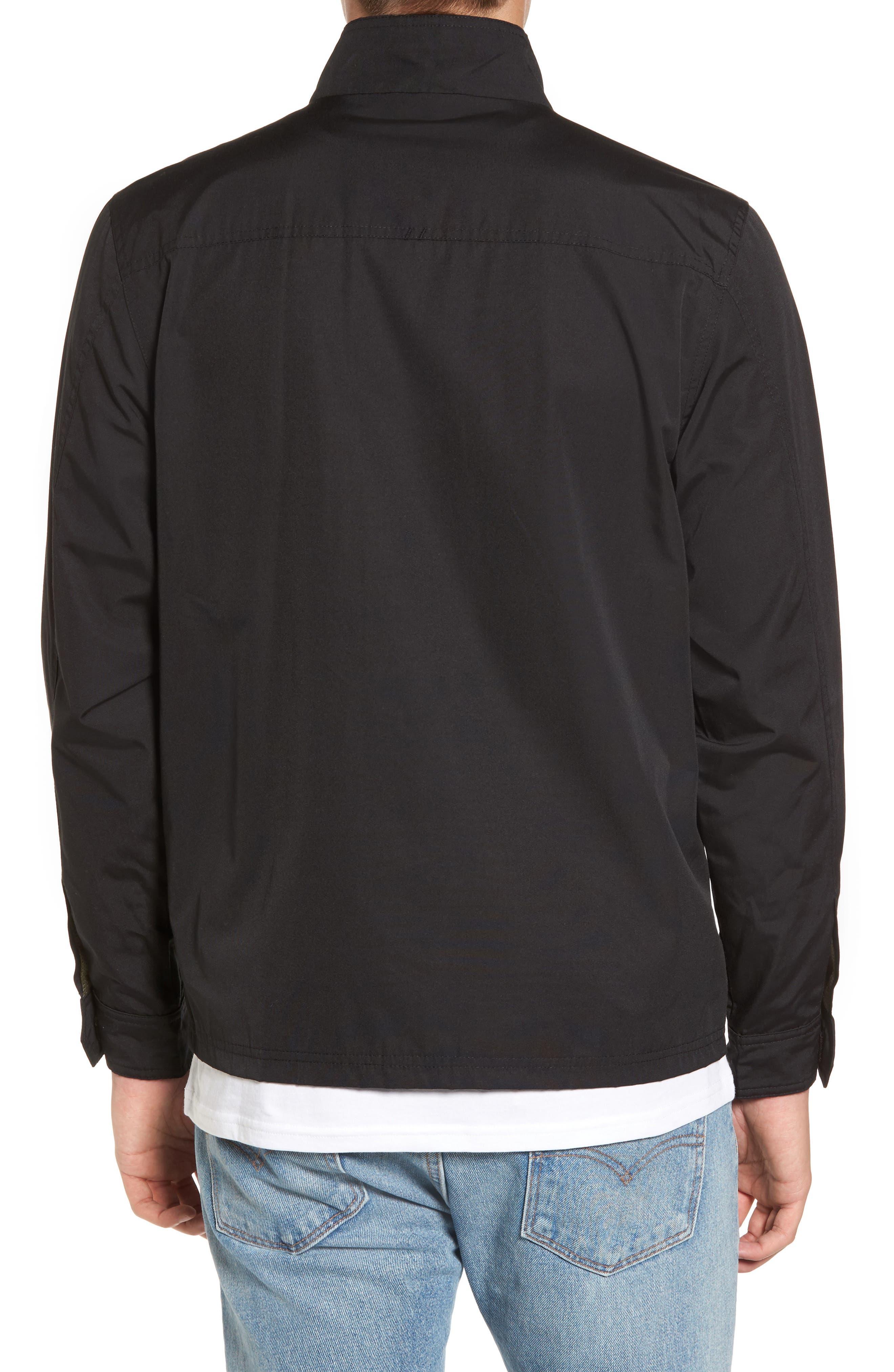 Staple Jacket,                             Alternate thumbnail 2, color,                             Solid Black