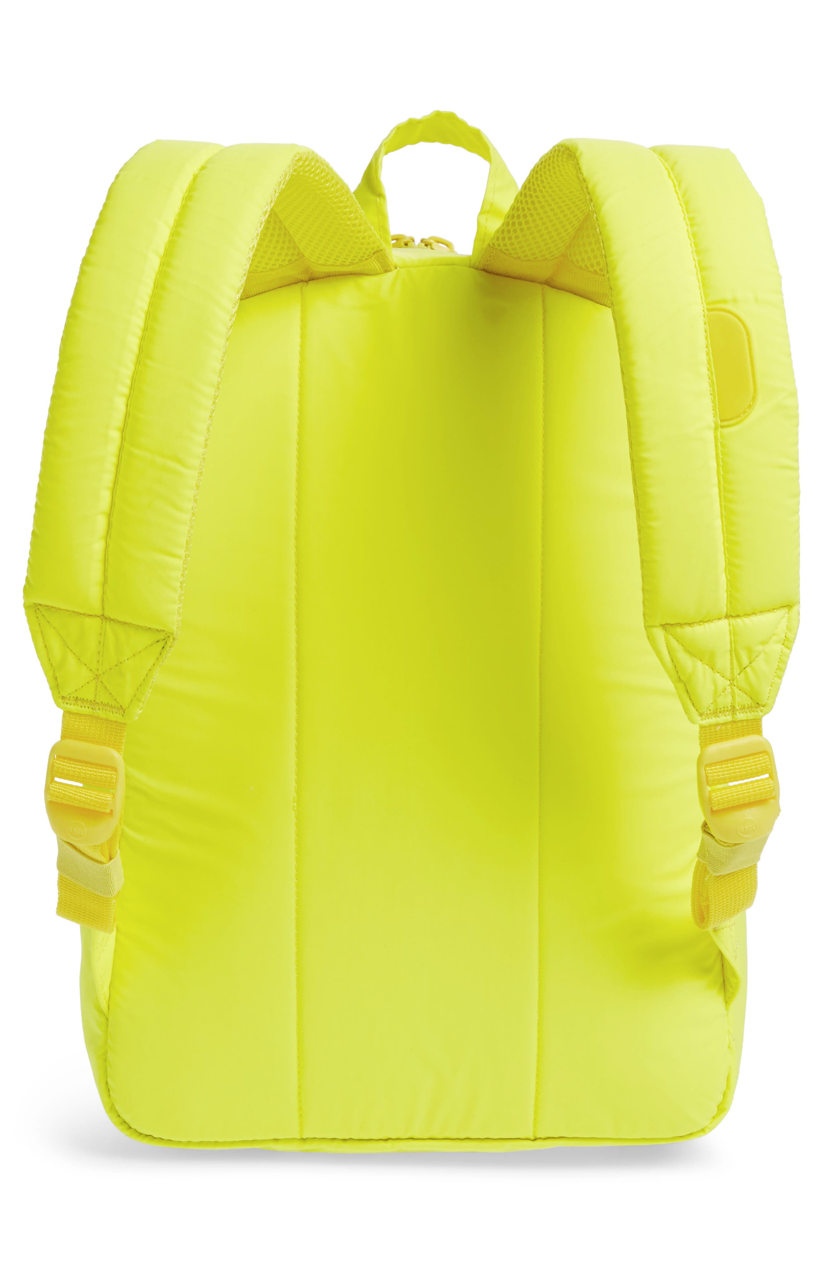 Heritage Backpack,                             Alternate thumbnail 2, color,                             Neon Yellow Reflective Rubber