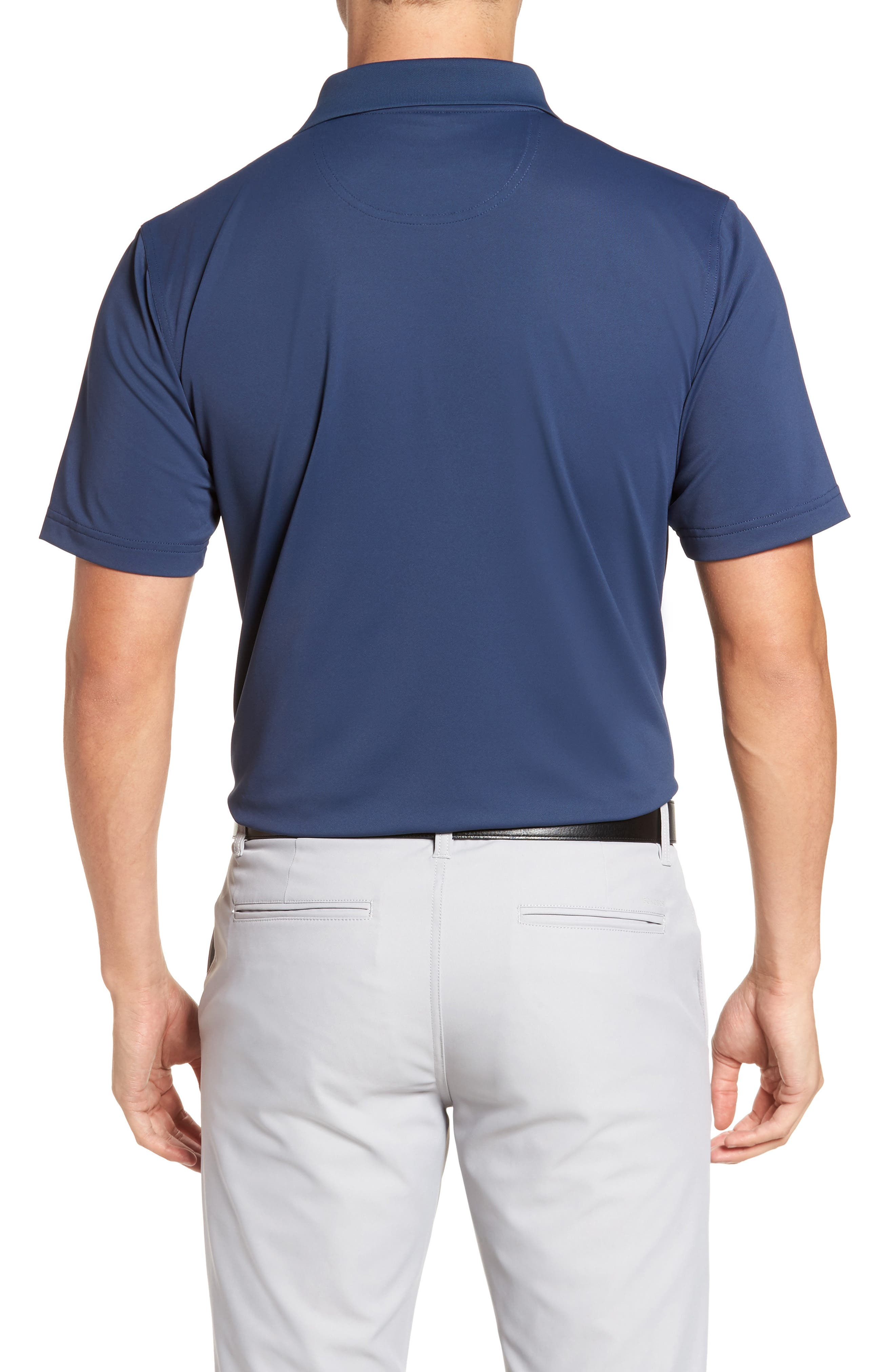 XH20 Robertson Print Polo,                             Alternate thumbnail 2, color,                             Midnight Ink