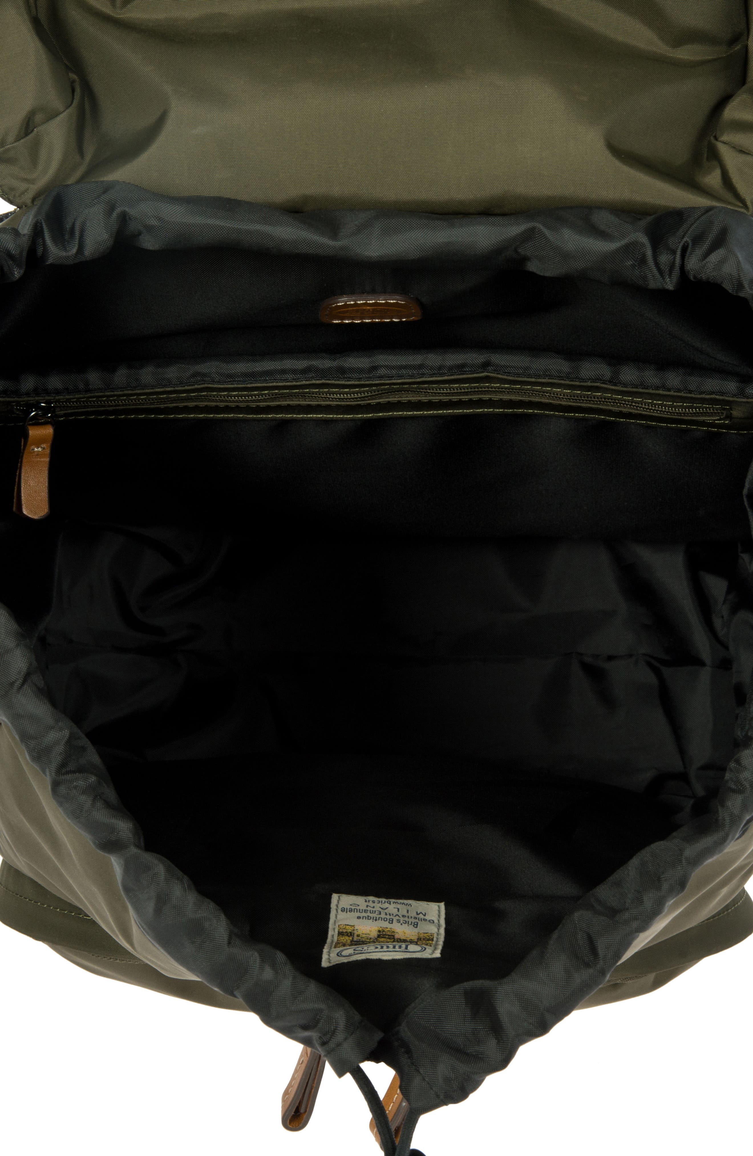 X-Bag Travel Excursion Backpack,                             Alternate thumbnail 3, color,                             Olive