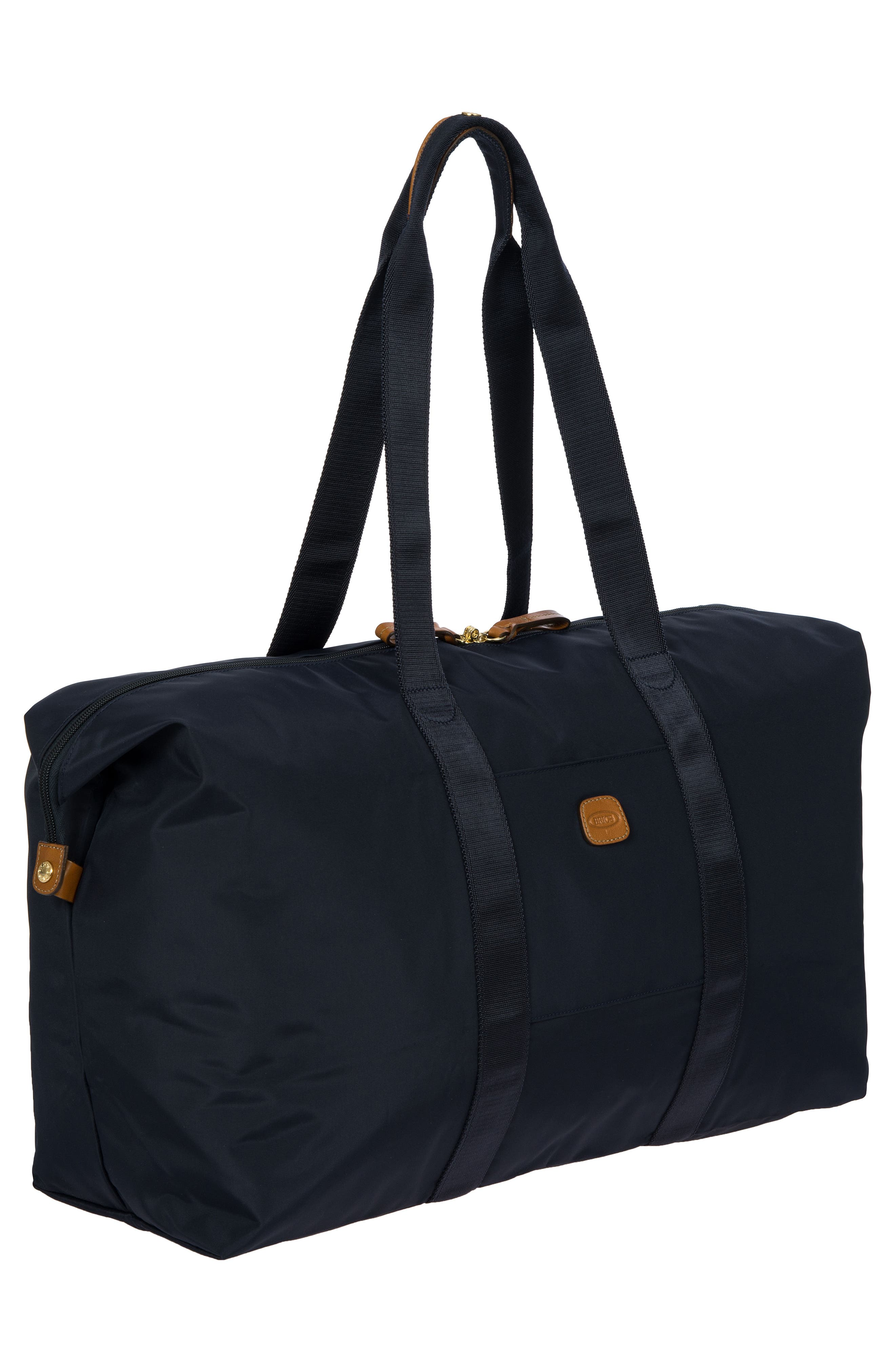 X-Bag 22-Inch Folding Duffel Bag,                             Alternate thumbnail 4, color,                             Navy
