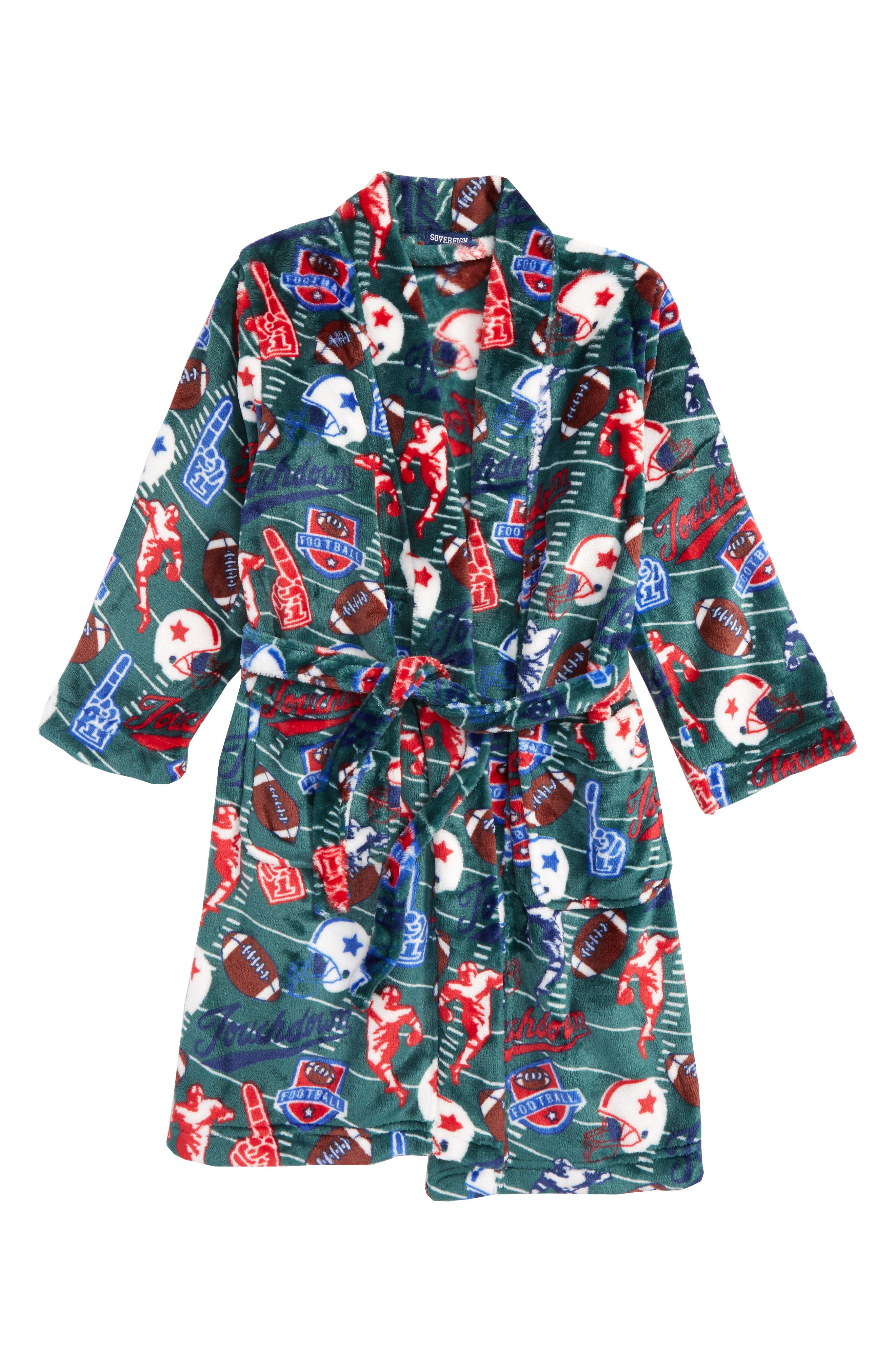 Sovereign Athletic Football Fleece Robe (Little Boys & Big Boys)