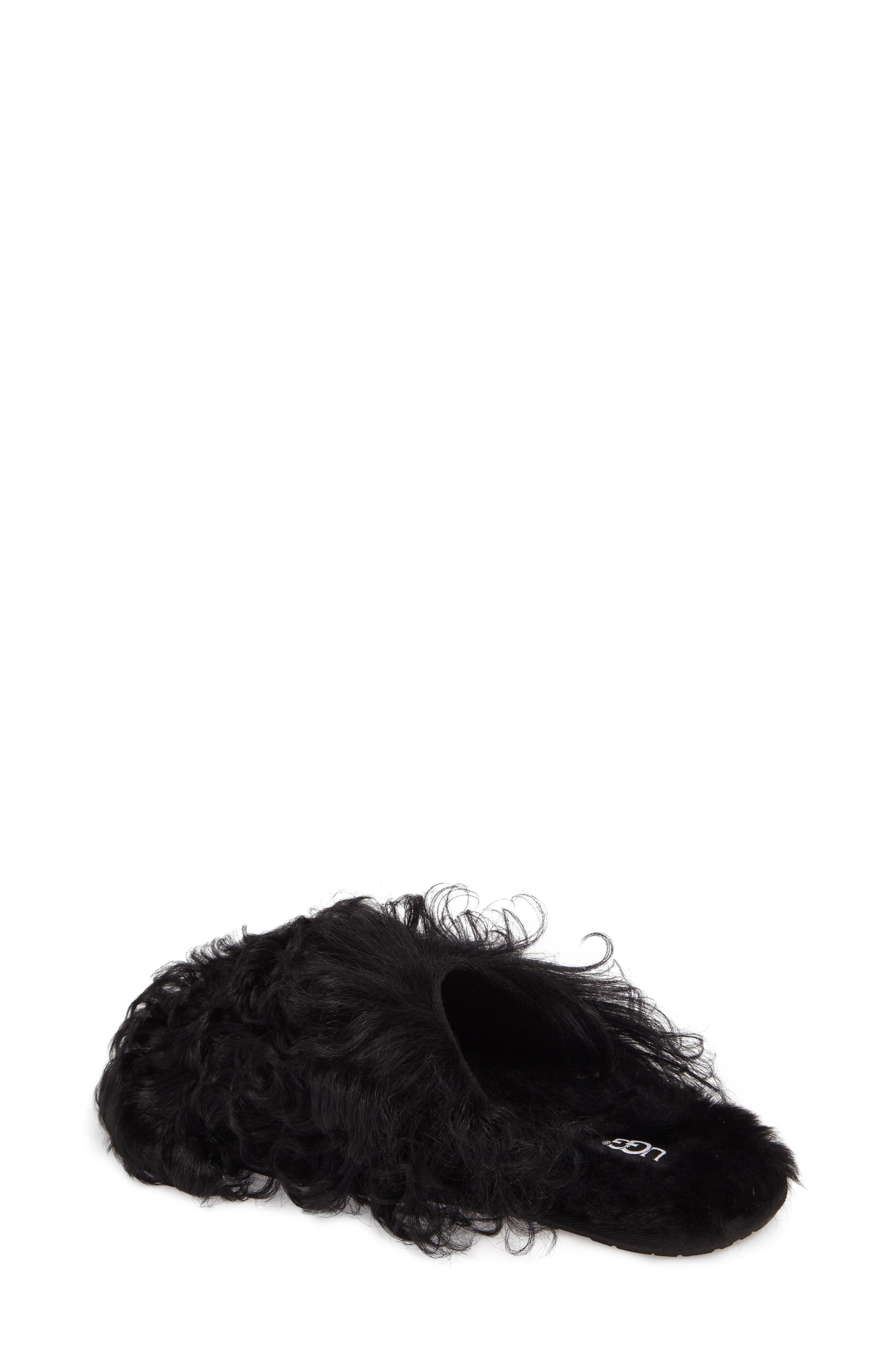 Alternate Image 2  - UGG® Fluff Momma Genuine Shearling Slipper (Women)