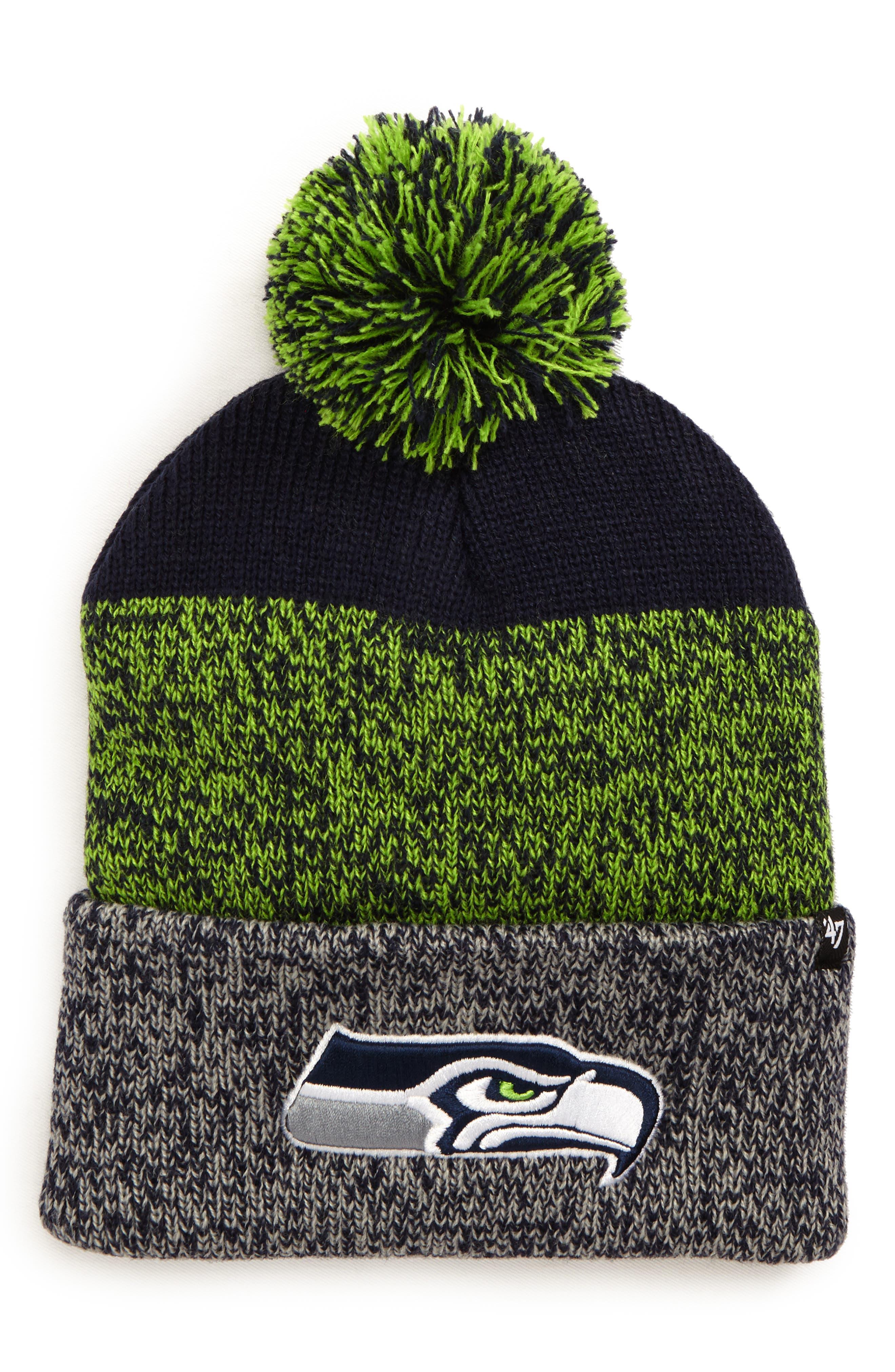 '47 Seattle Seahawks Static Cuff Knit Beanie