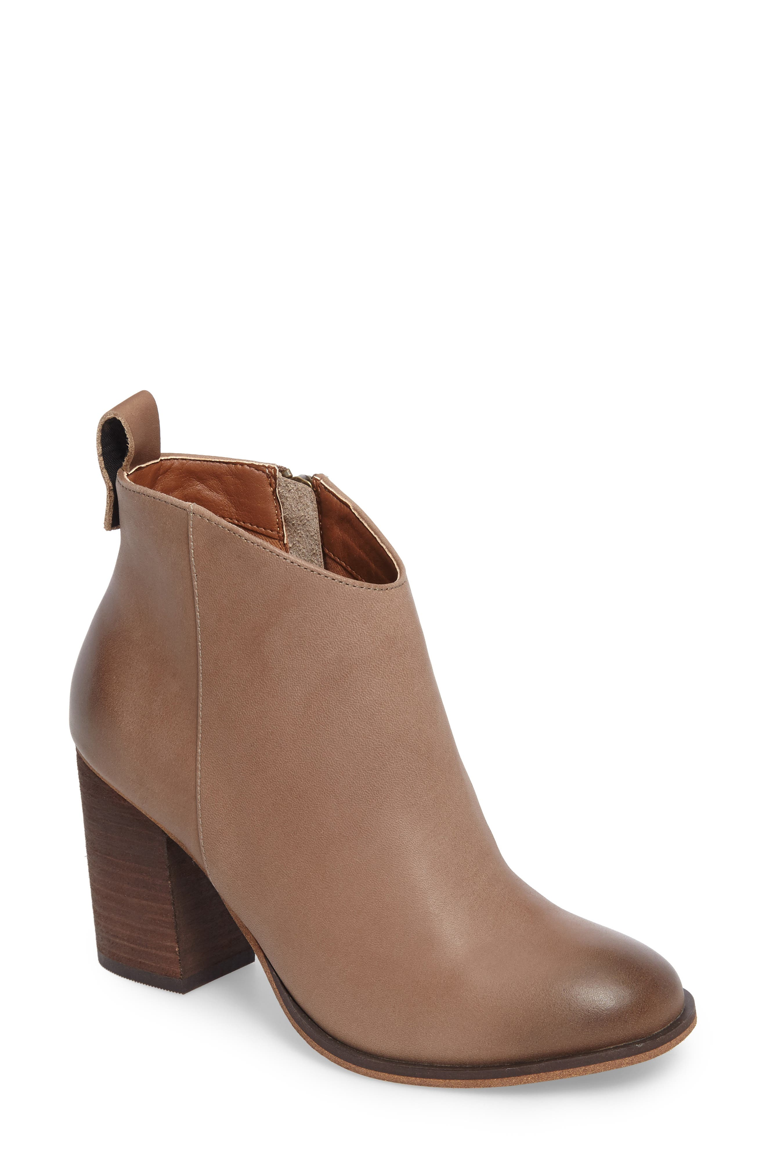 BP. Lance Block Heel Bootie (Women)