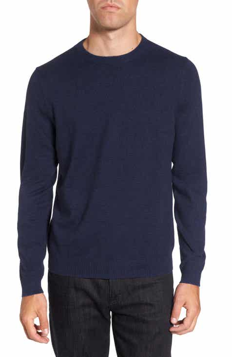 532a5fb476 Nordstrom Men's Shop Cotton & Cashmere Crewneck Sweater