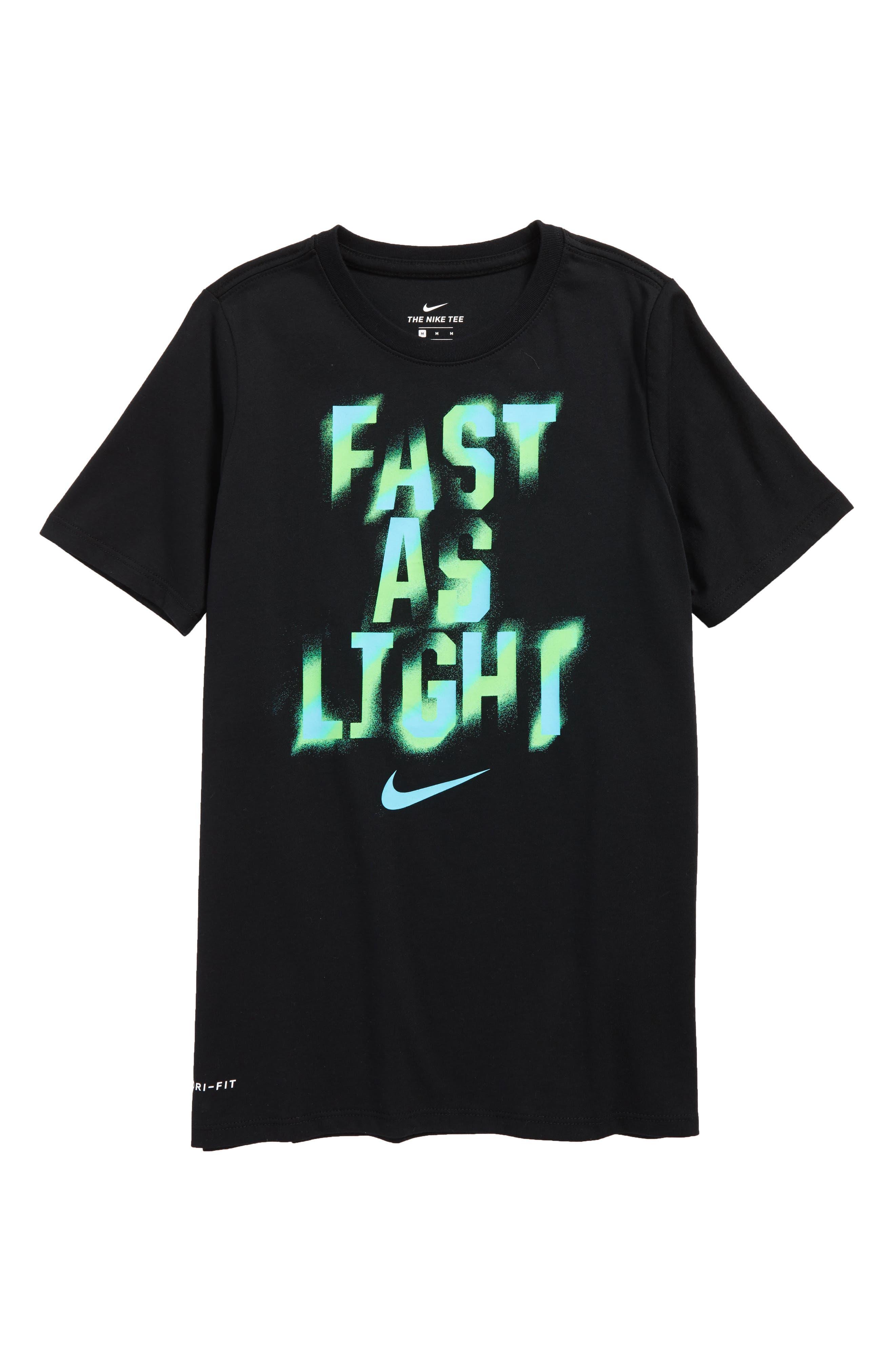 Dry Graphic T-Shirt,                         Main,                         color, Black