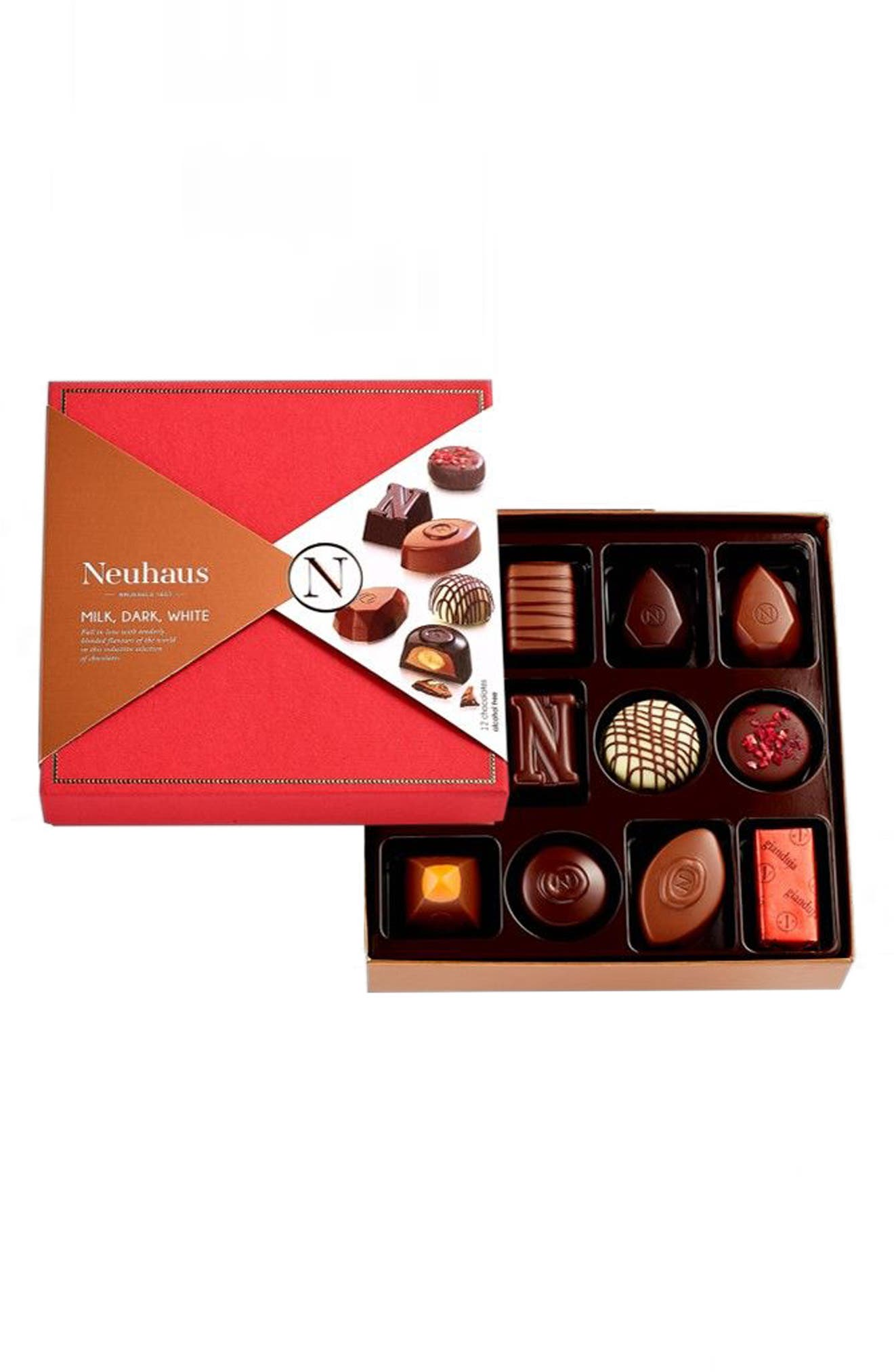 Discovery Collection 12-Piece Chocolate Gift Set,                             Alternate thumbnail 2, color,                             Red