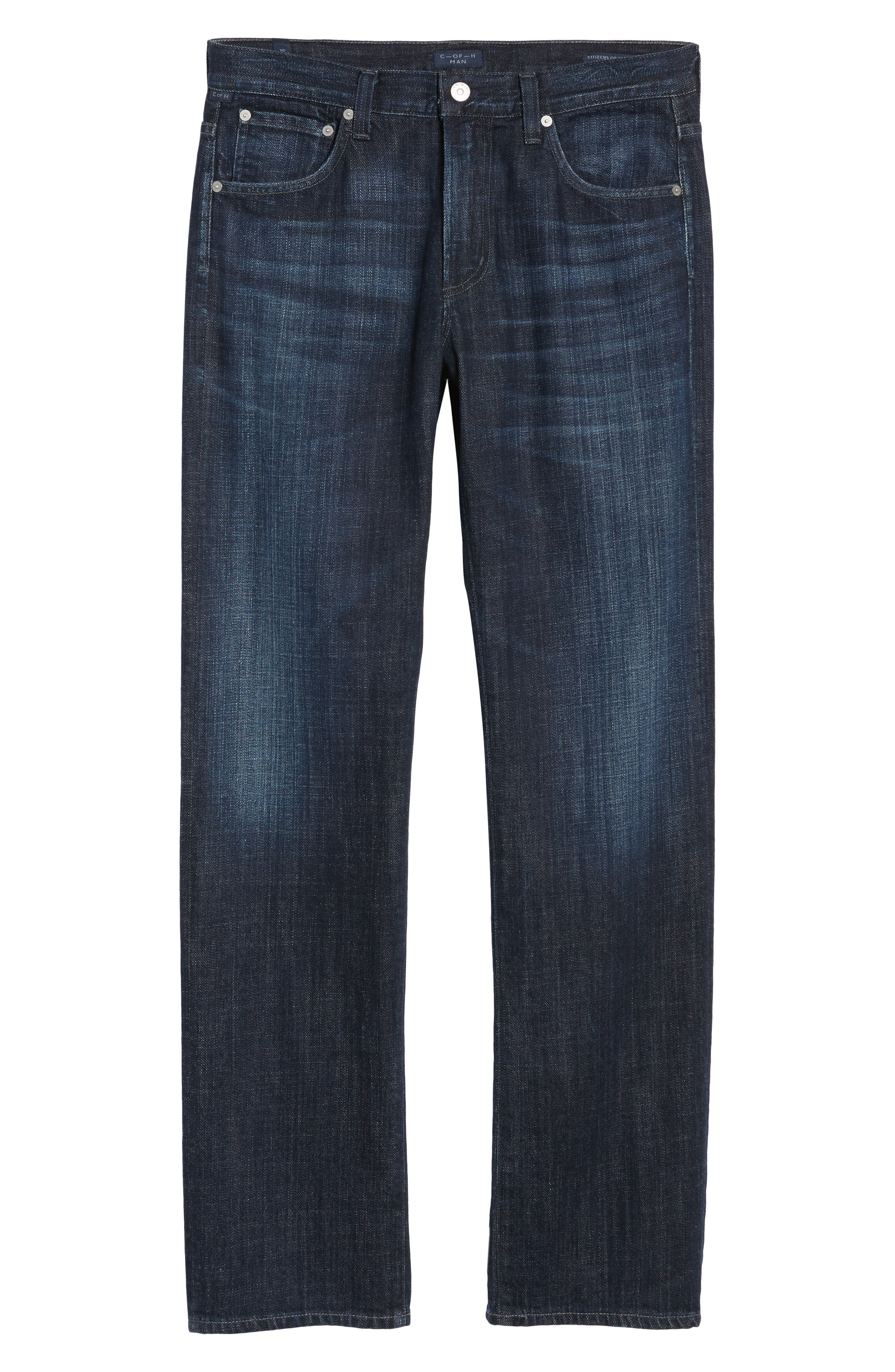Sid Straight Leg Jeans,                             Alternate thumbnail 6, color,                             Pierson