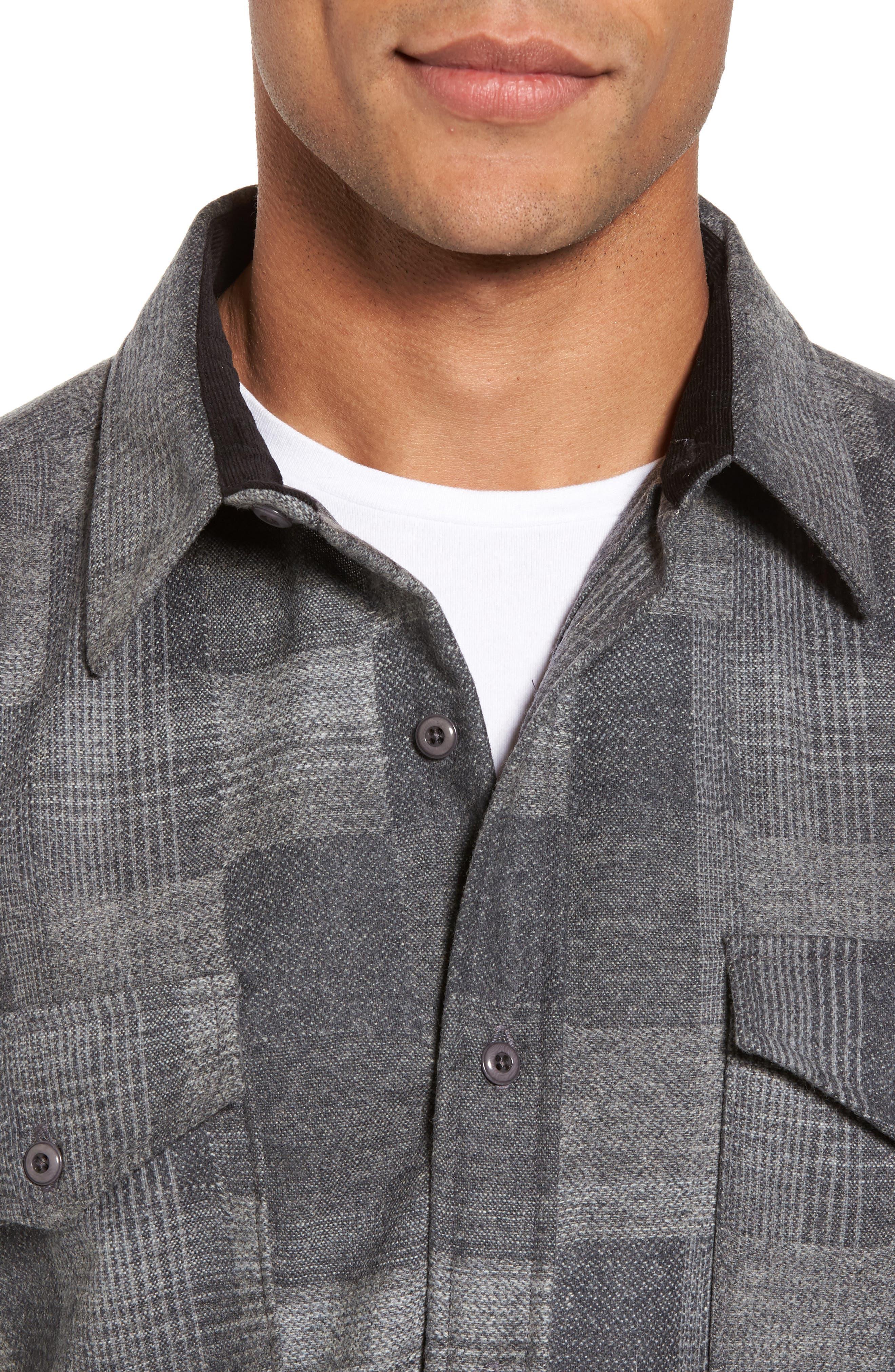 Alternate Image 4  - Pendleton Boro Wool Shirt