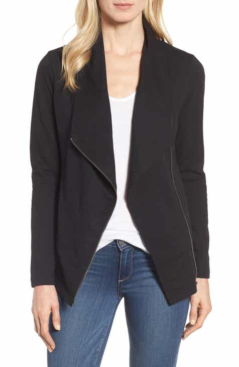 Caslon® Stella Knit Jacket (Regular & Petite) by CASLON