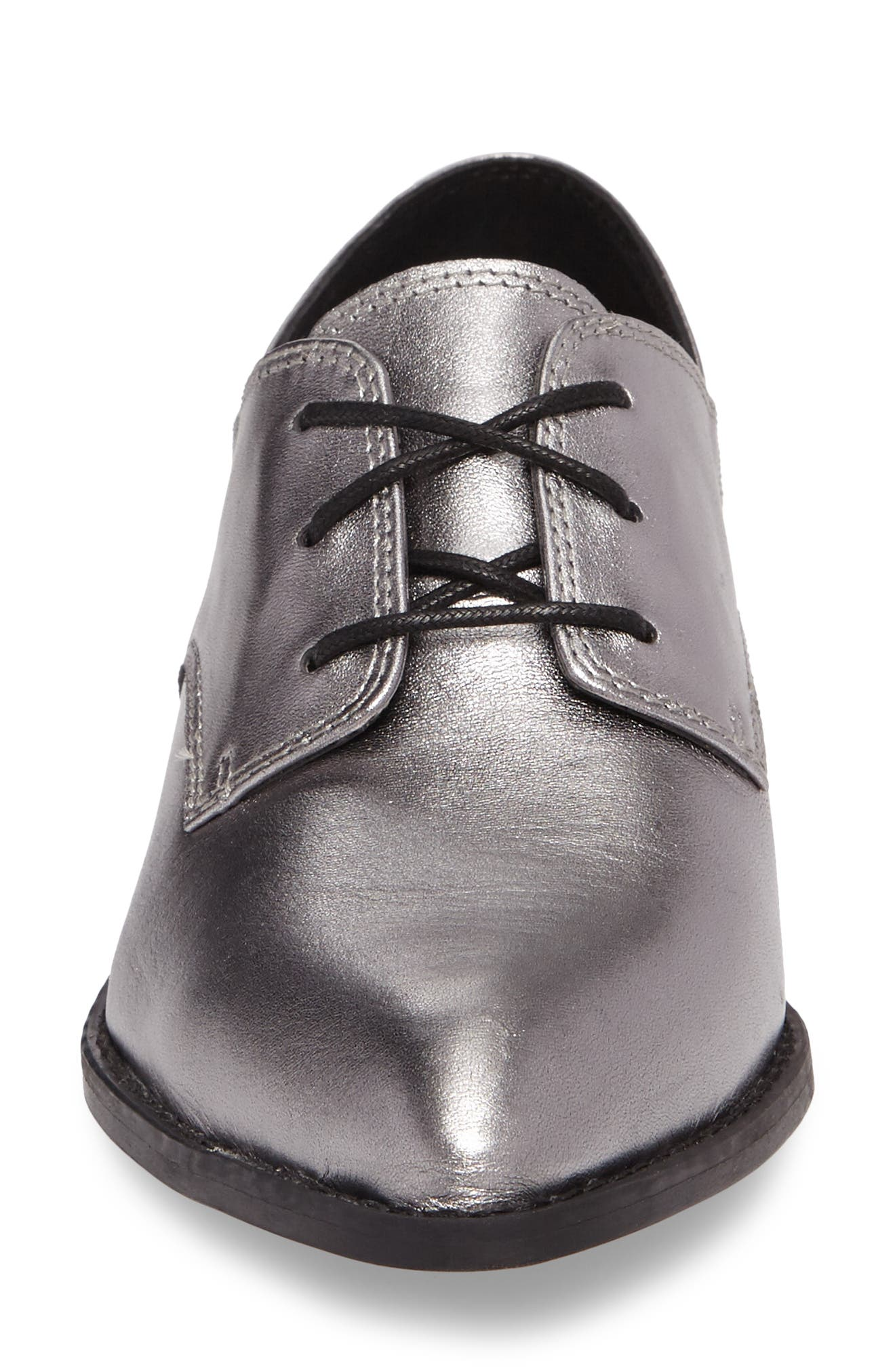 Corbin Oxford,                             Alternate thumbnail 4, color,                             Pewter Leather