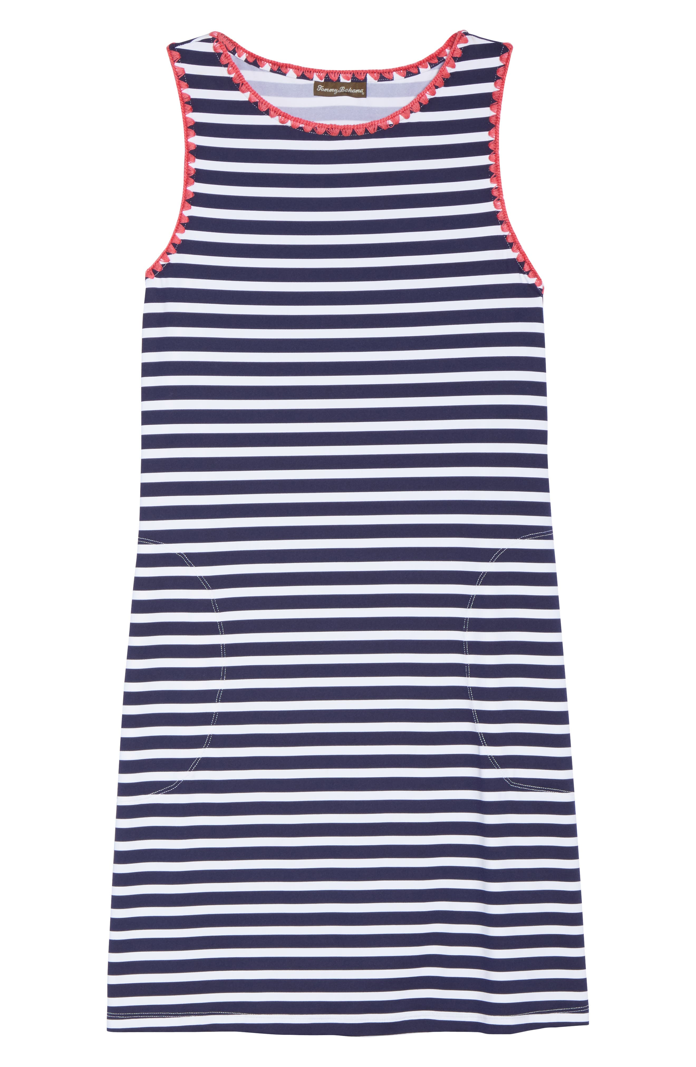 Alternate Image 6  - Tommy Bahama Breton Stripe Cover-Up Dress