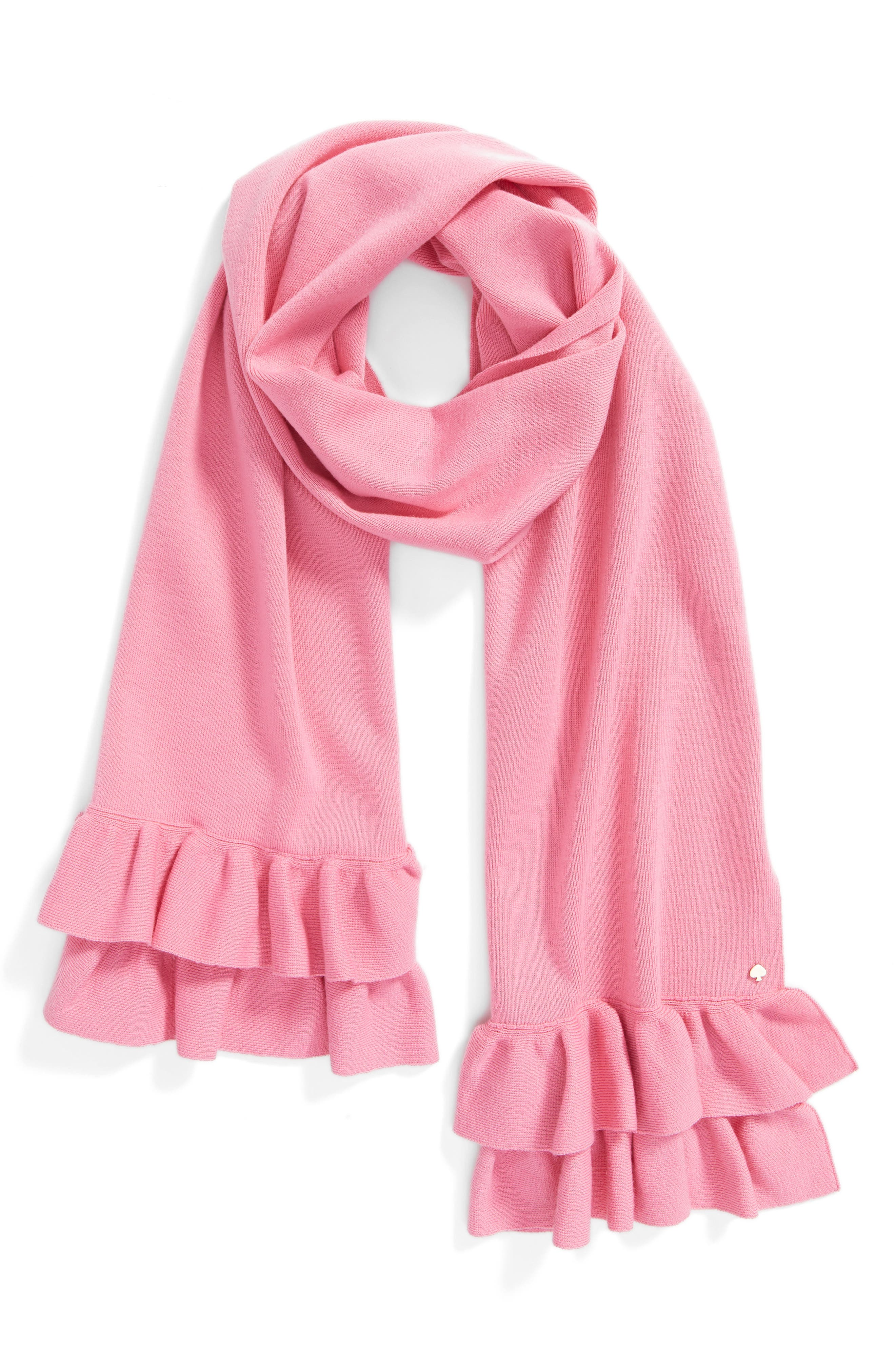 Alternate Image 3  - kate spade new york ruffle muffler
