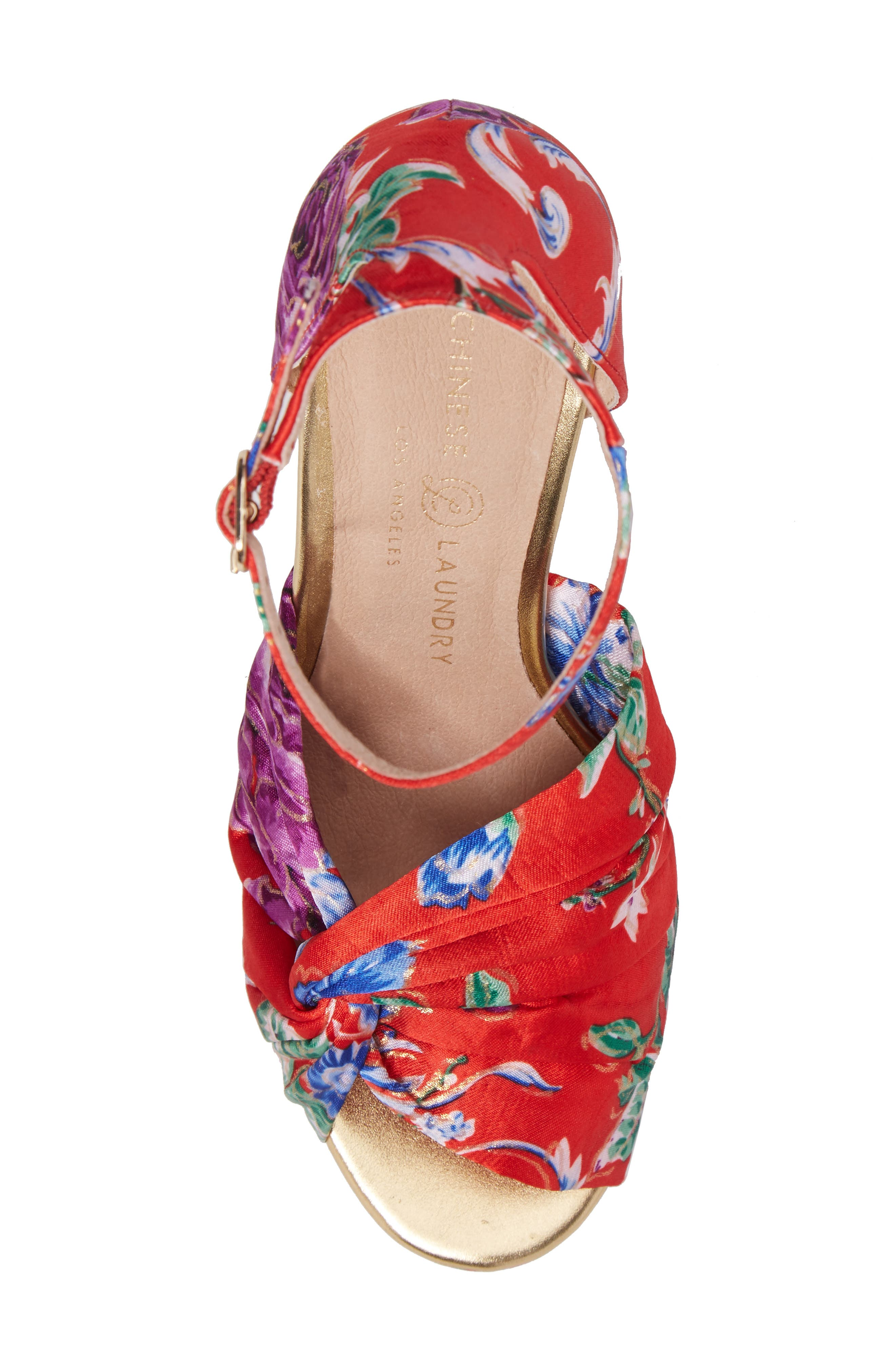 Alternate Image 5  - Chinese Laundry Flory Knotted Sandal (Women)